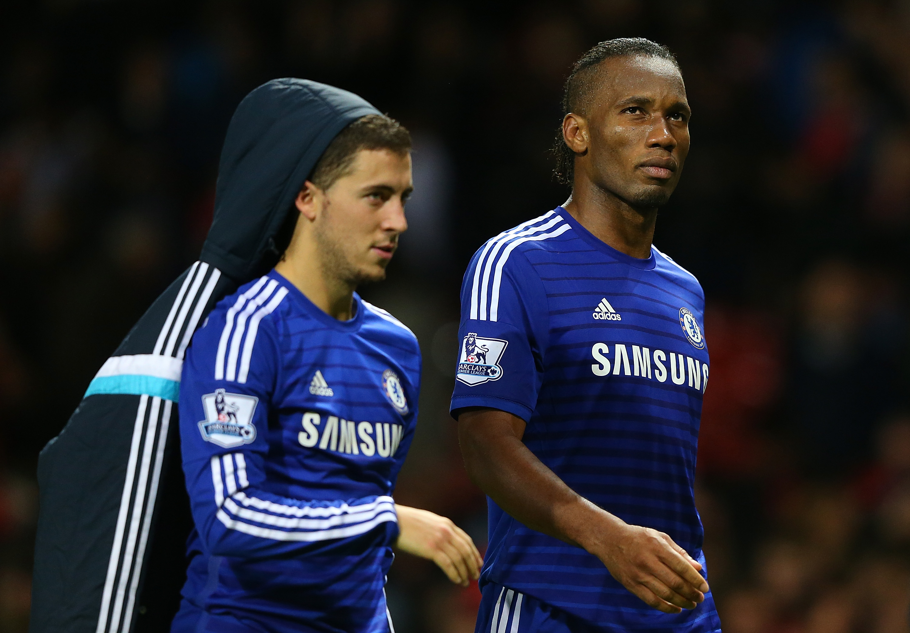 Didier Drogba urges Eden Hazard to stay and write his own Chelsea legend