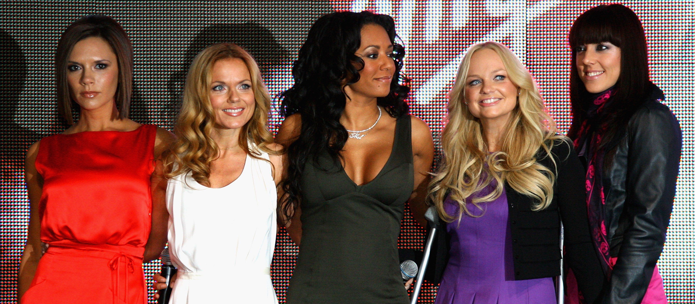 Spice Girls Land In London And Open New Virgin Terminal