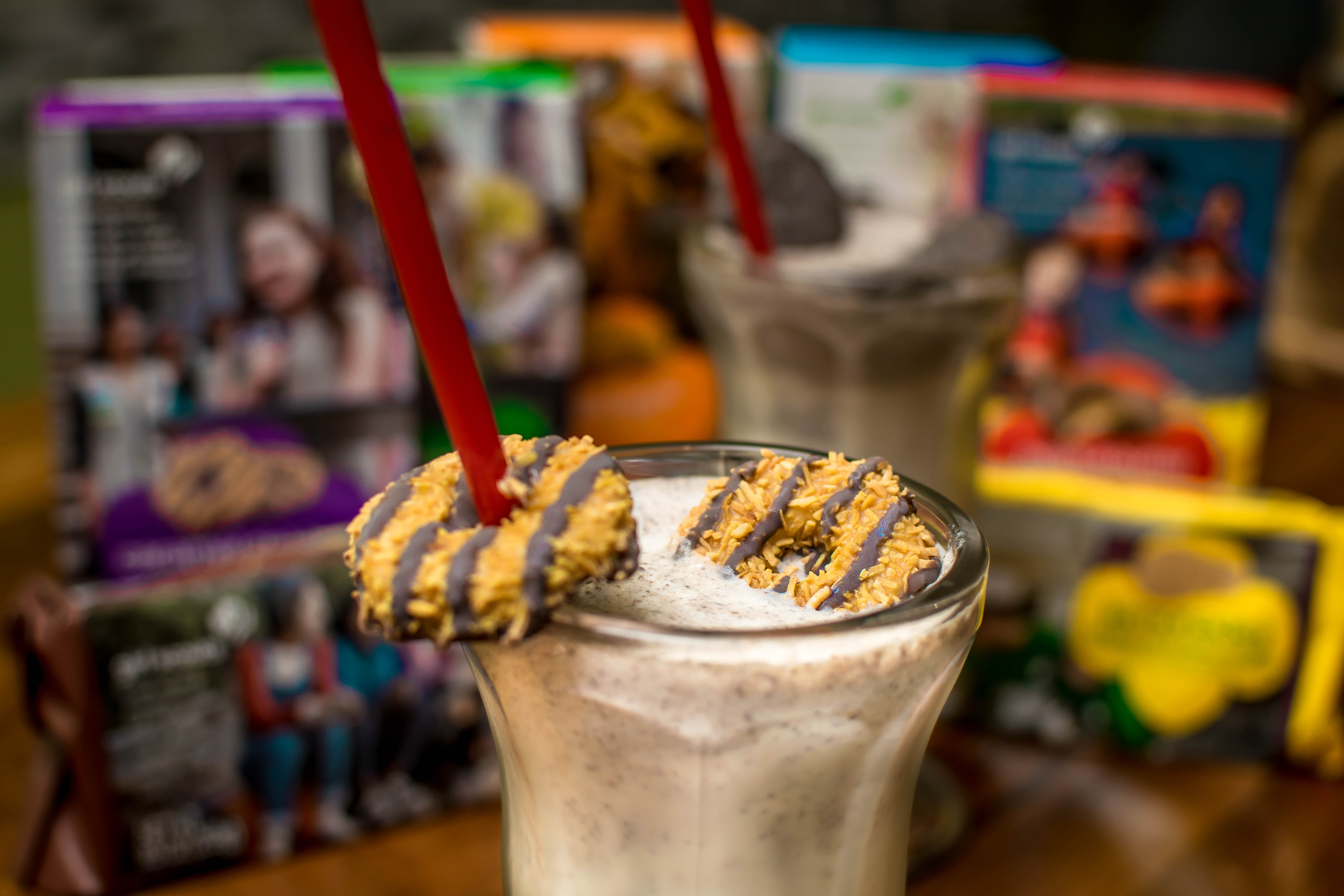 Girl Scout Cookie Milkshakes Are Now Being Served on East Passyunk Avenue