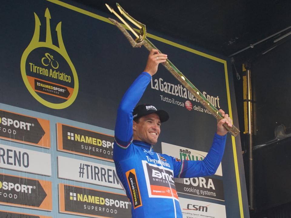 Van Avermaet Tirreno podium