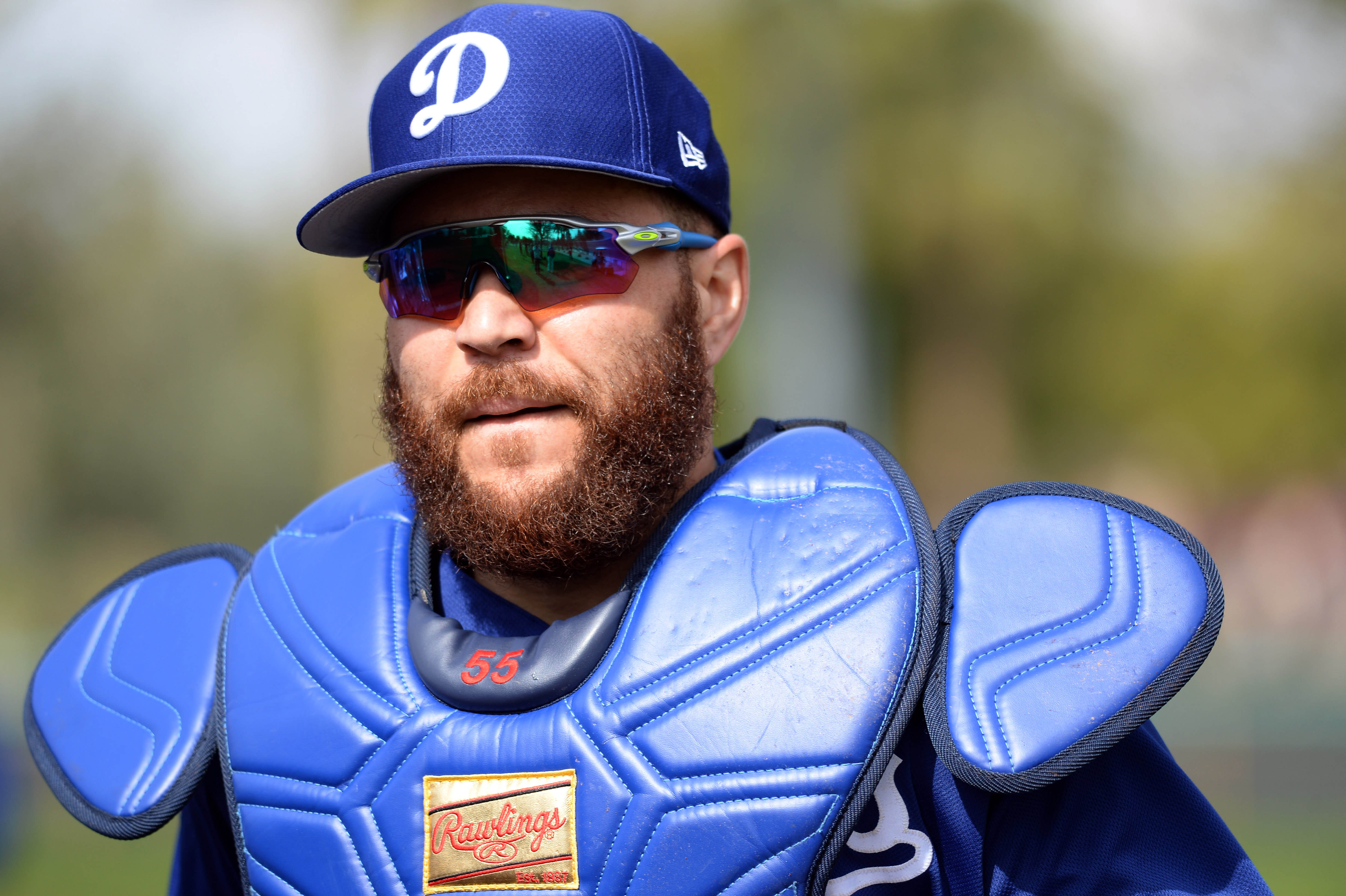 MLB: Los Angeles Dodgers-Workouts
