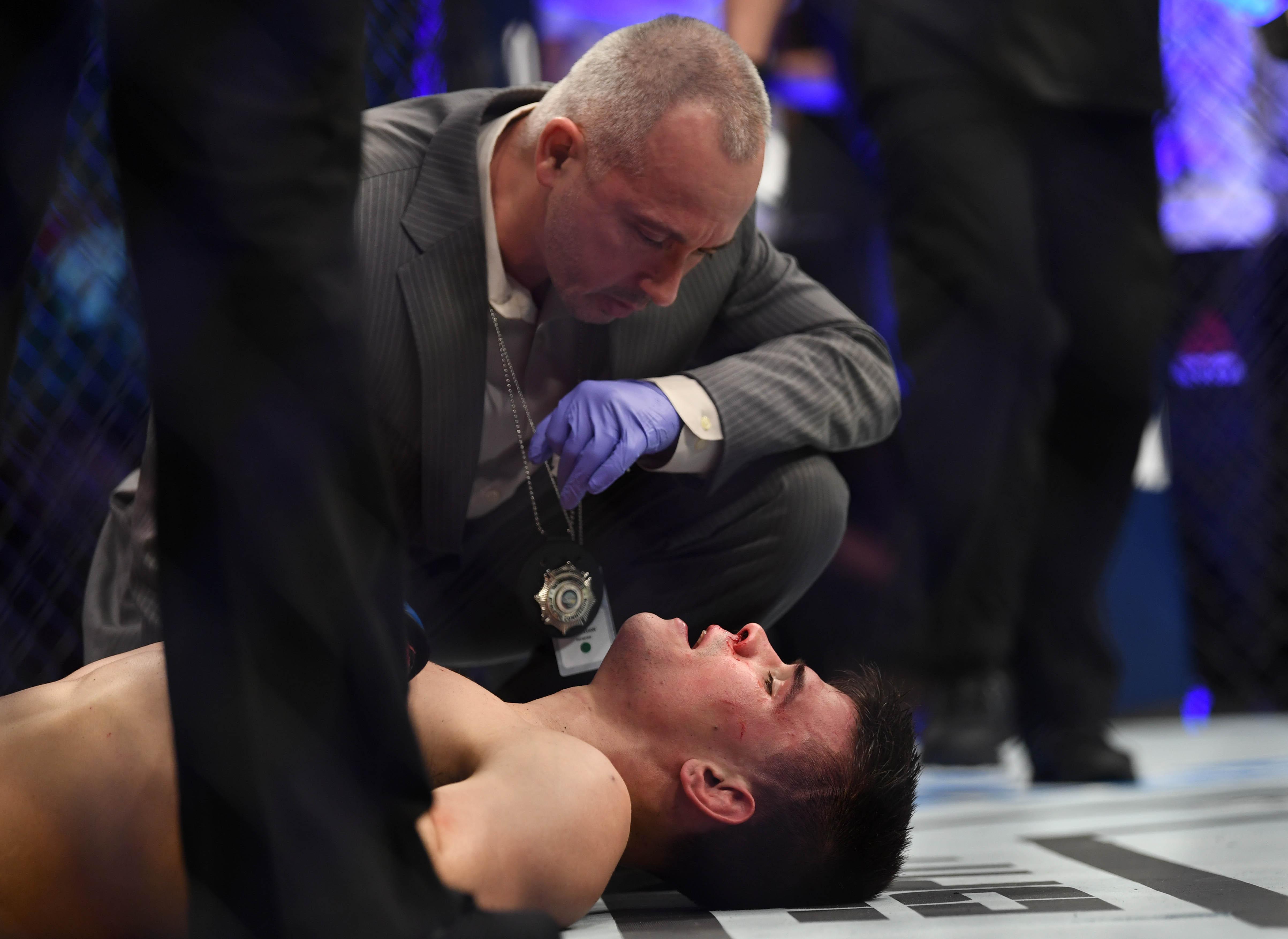 MMA: UFC 235-Sanchez vs Gall