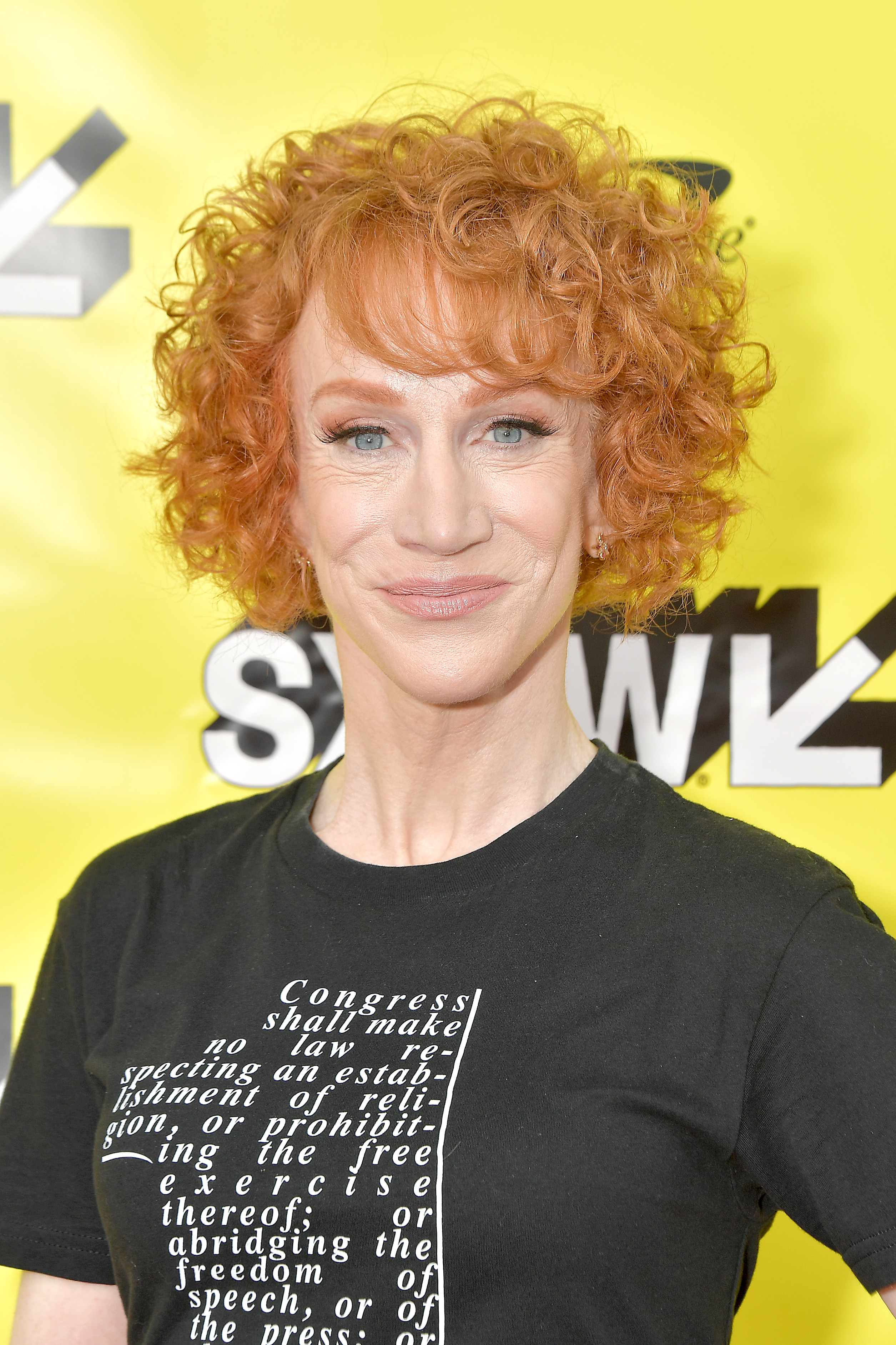 """Comedian Kathy Griffin at the SXSW premiere of """"A Hell of a Story,"""""""