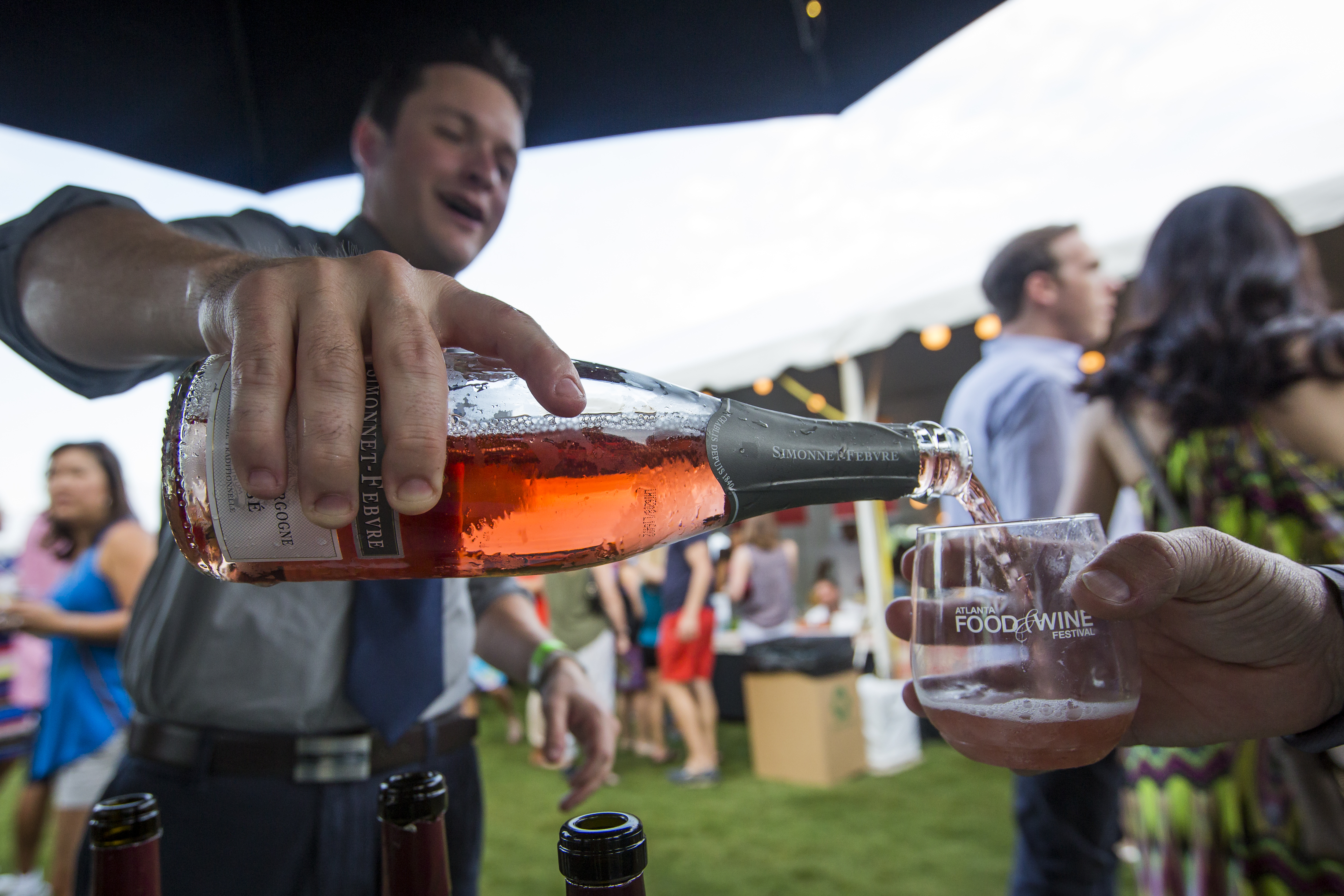 2019 Atlanta Food & Wine Festival Tickets and Tasting Tents