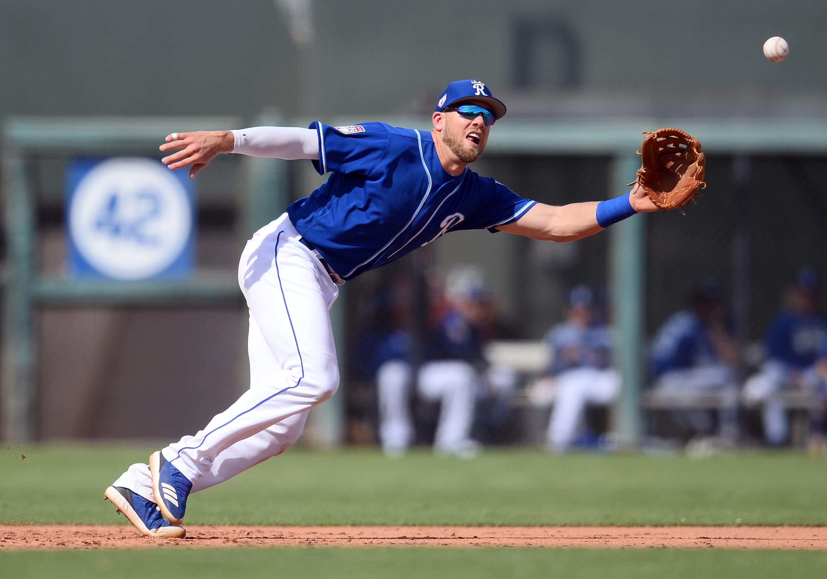 MLB: Spring Training-San Diego Padres at Kansas City Royals