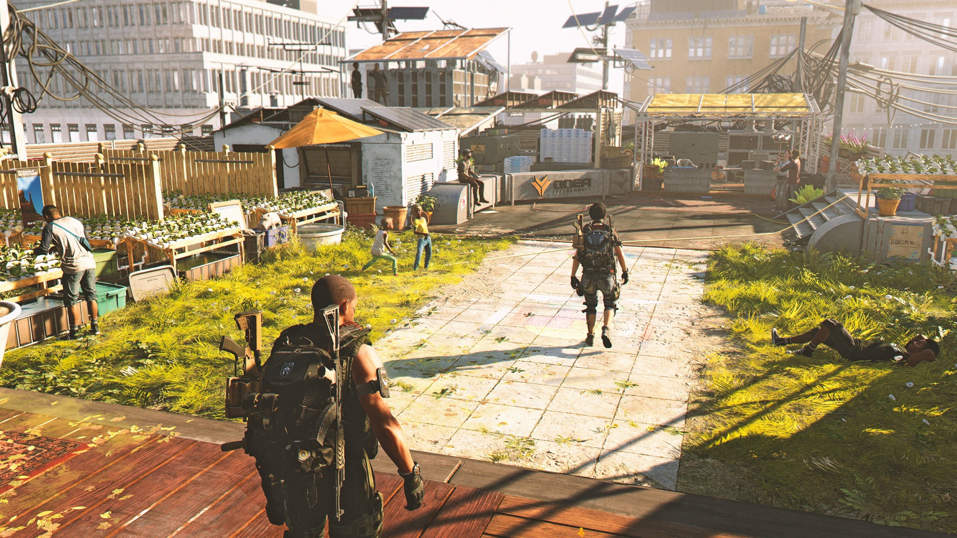 The Division 2 settlement