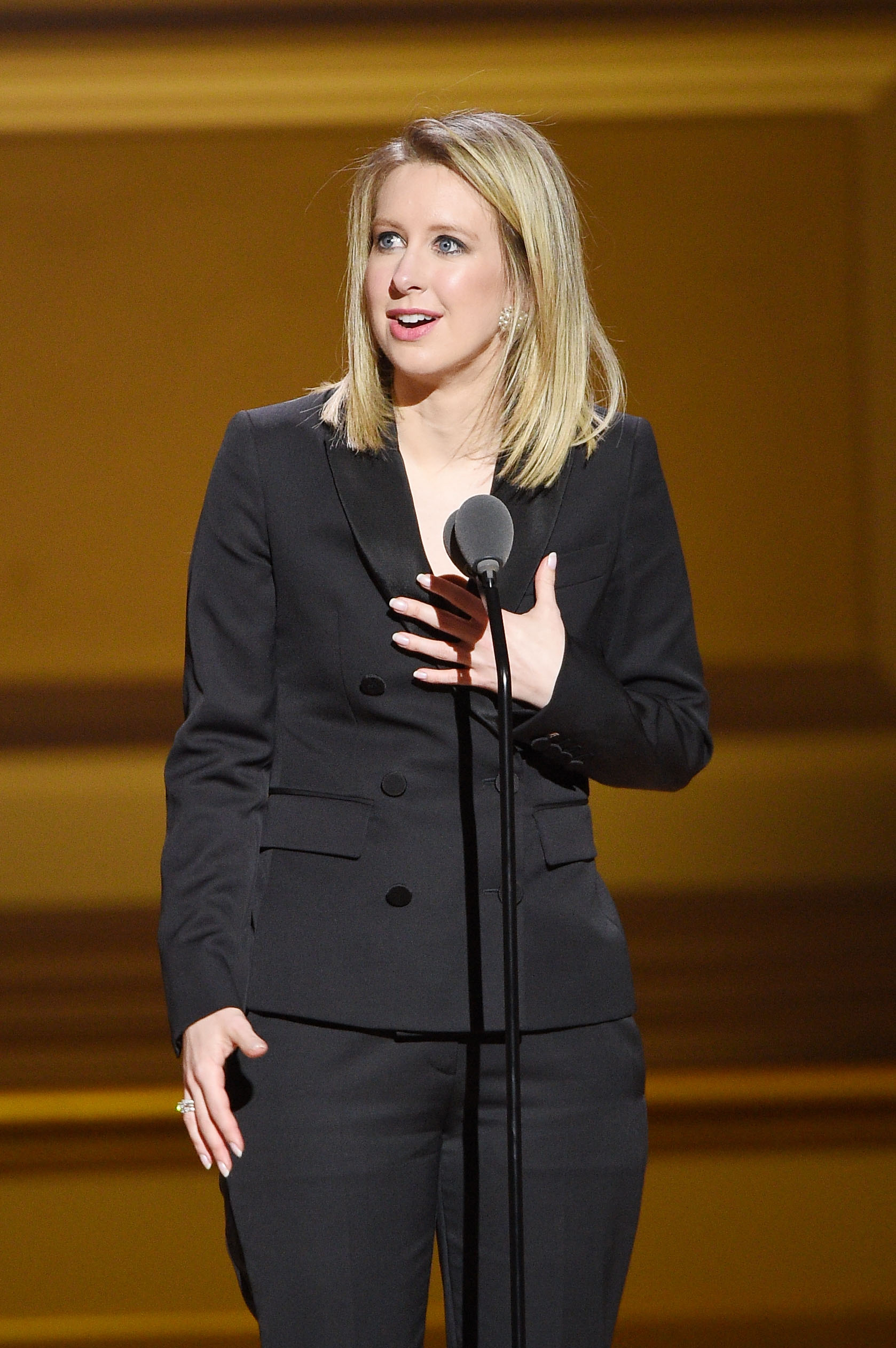 Theranos CEO Elizabeth Holmes.