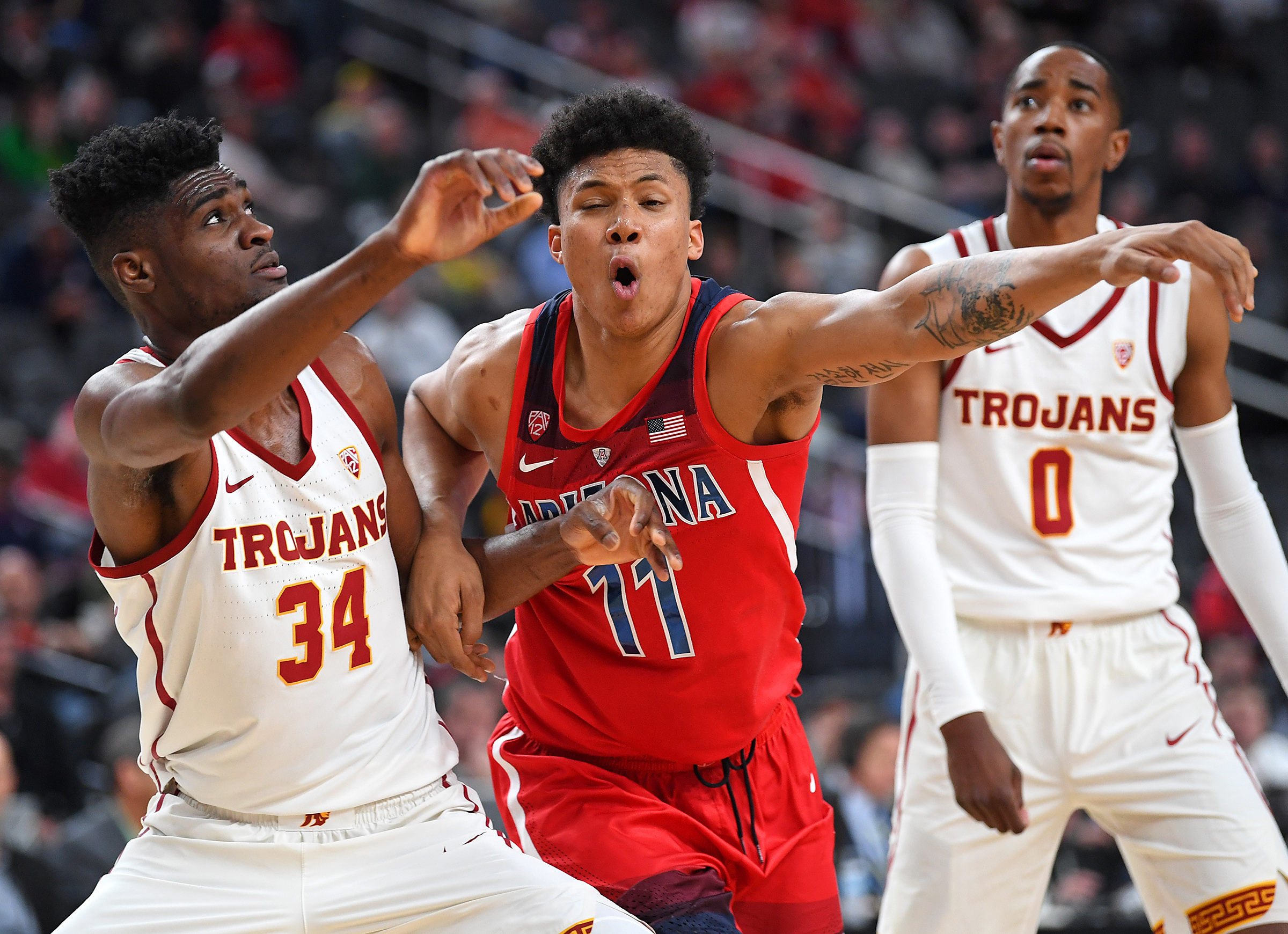 NCAA Basketball: Pac-12 Conference Tournament Arizona Wildcats vs USC Trojans