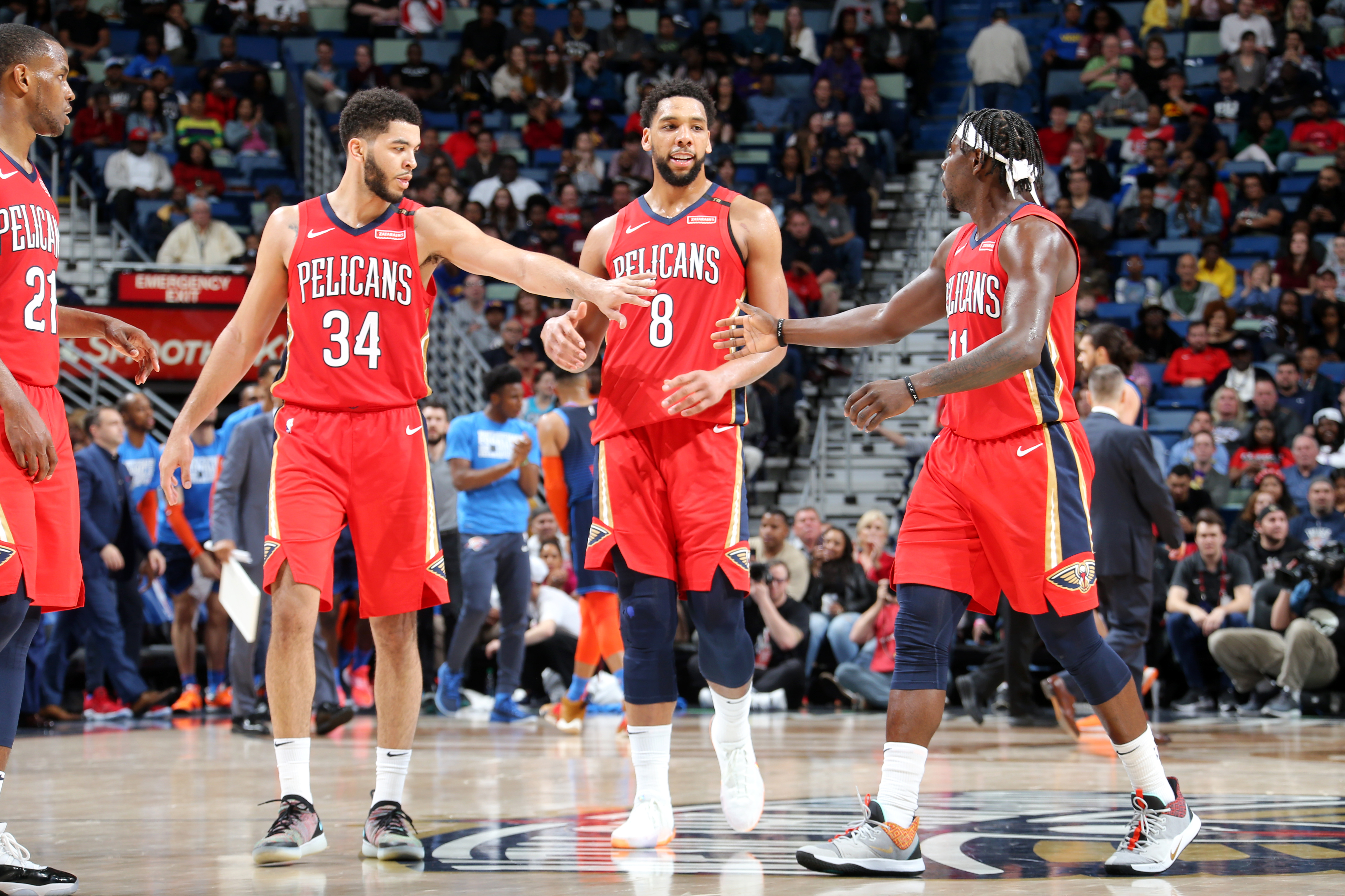 outlet store 15456 5d8d1 Jrue Holiday loves playing with New Orleans Pelicans ...