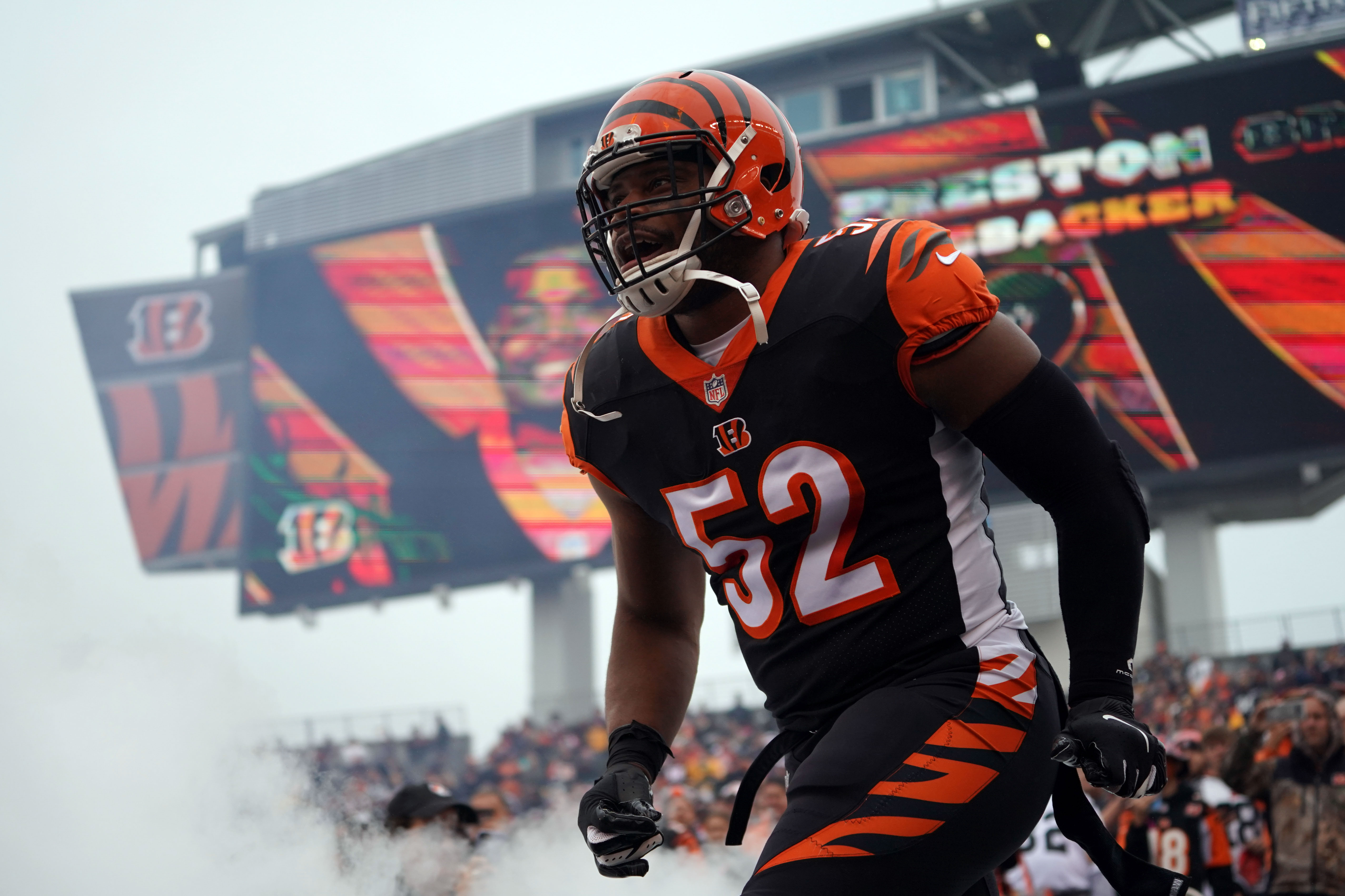 online retailer 79748 5e4b5 Bengals News (3/14): Preston Brown gets to stay home - Cincy ...