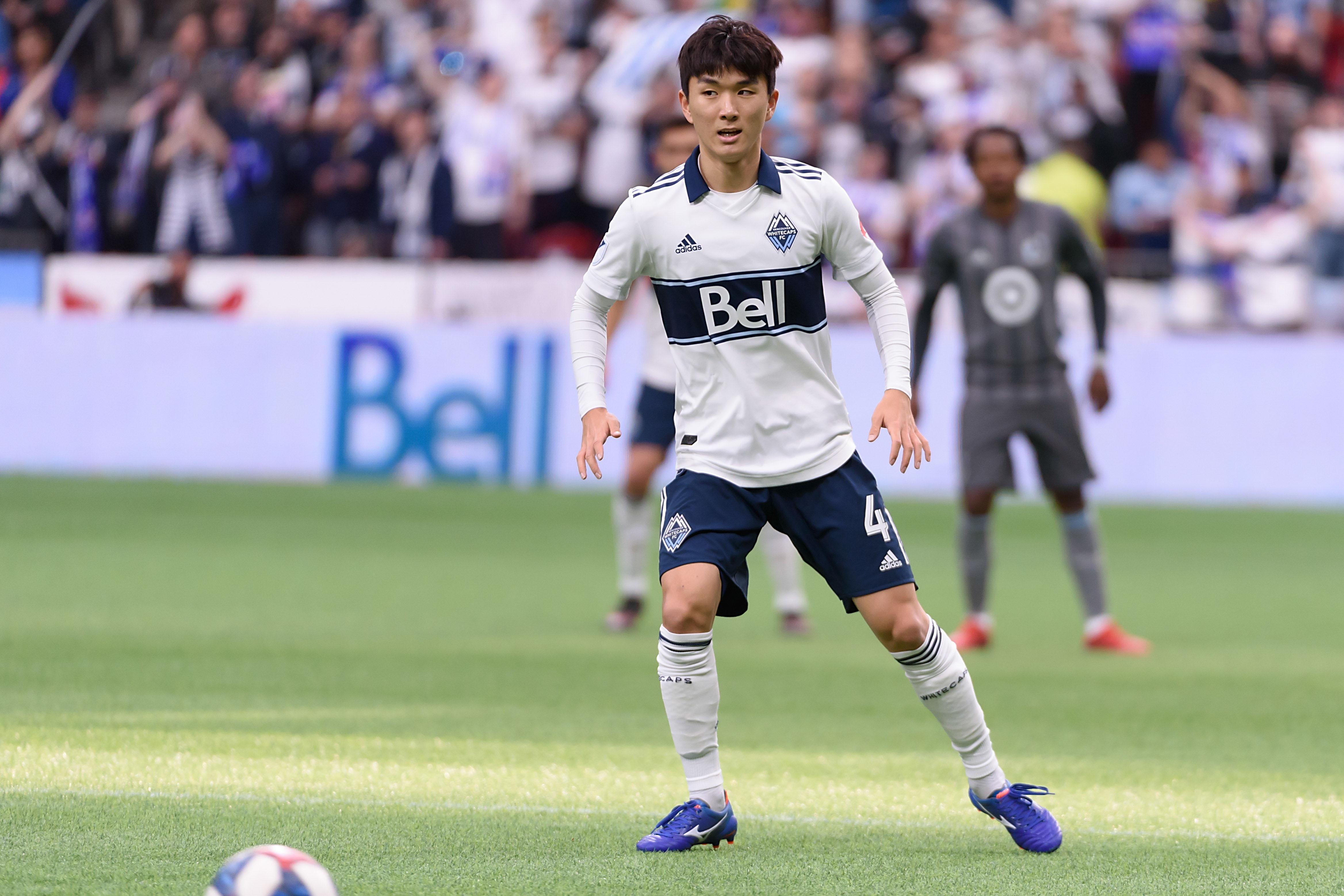 Inbeom Hwang - MLS: Vancouver Whitecaps FC