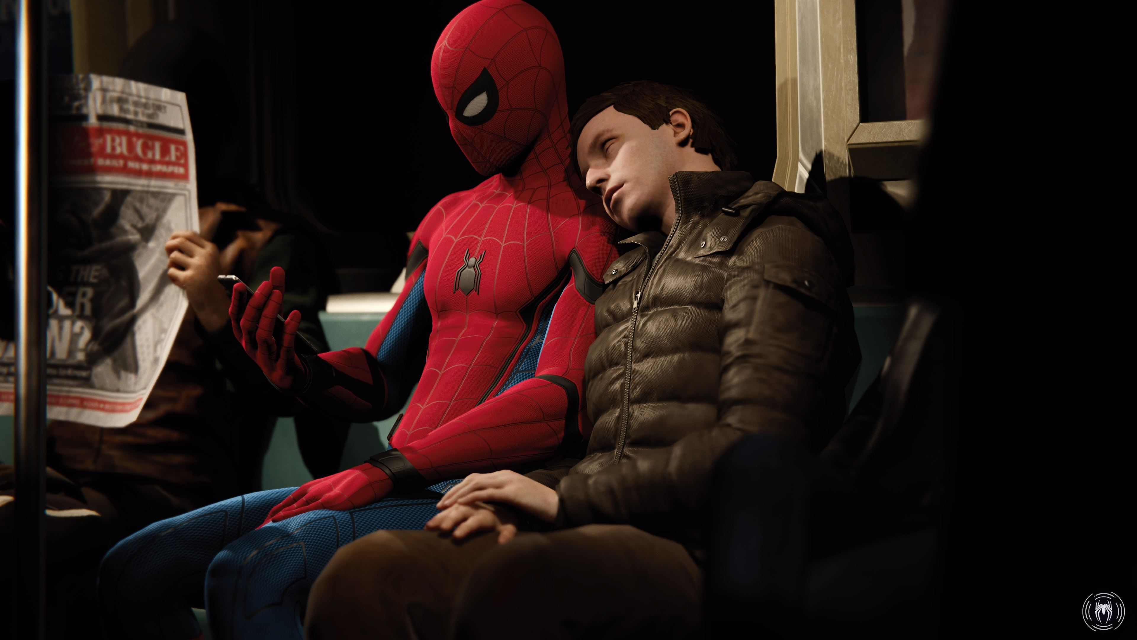 The joy of being a passenger in video games