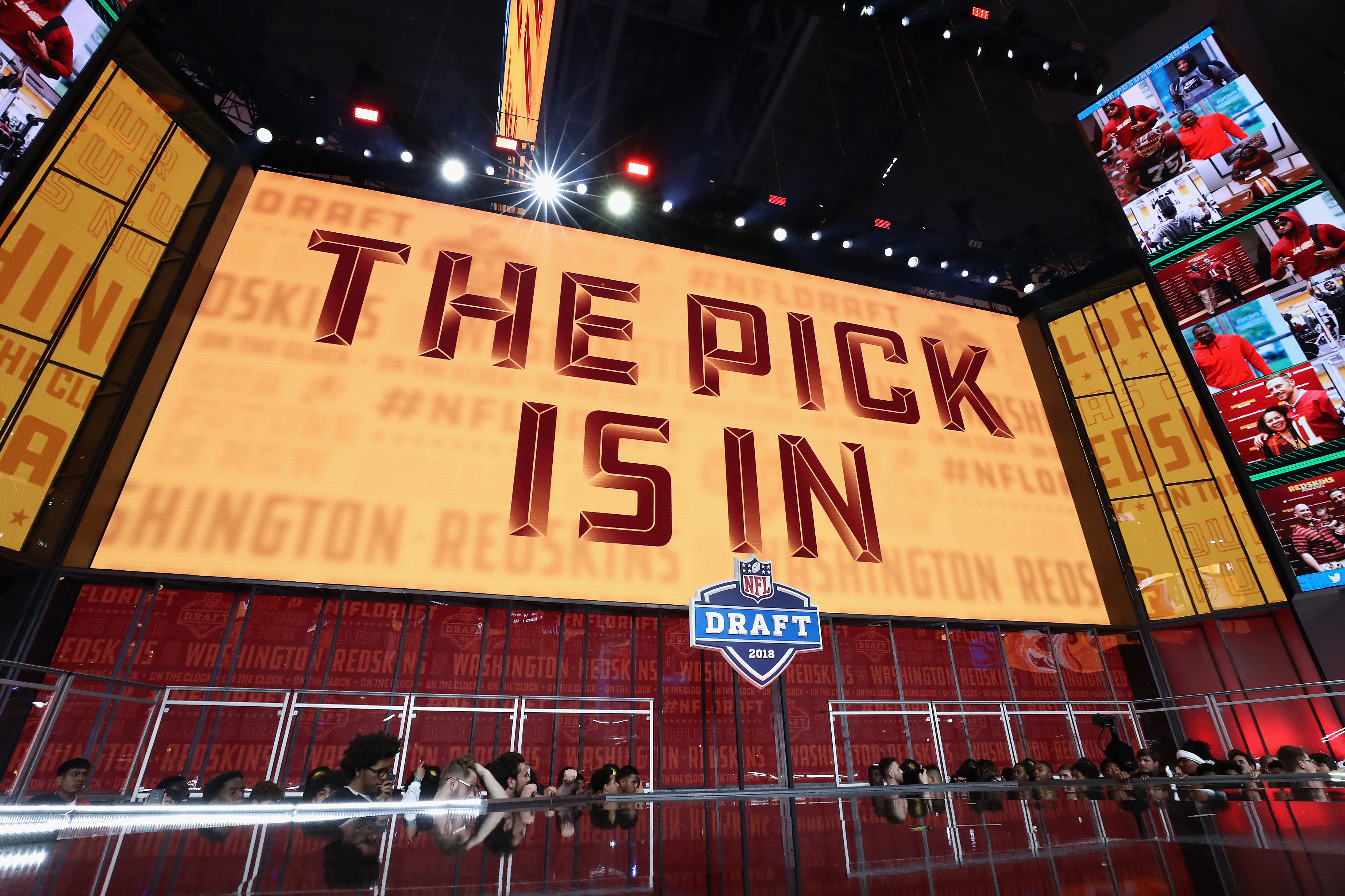 new concept fa192 dcc58 2019 NFL Draft  The Washington Redskins are on the clock, but who will they  take