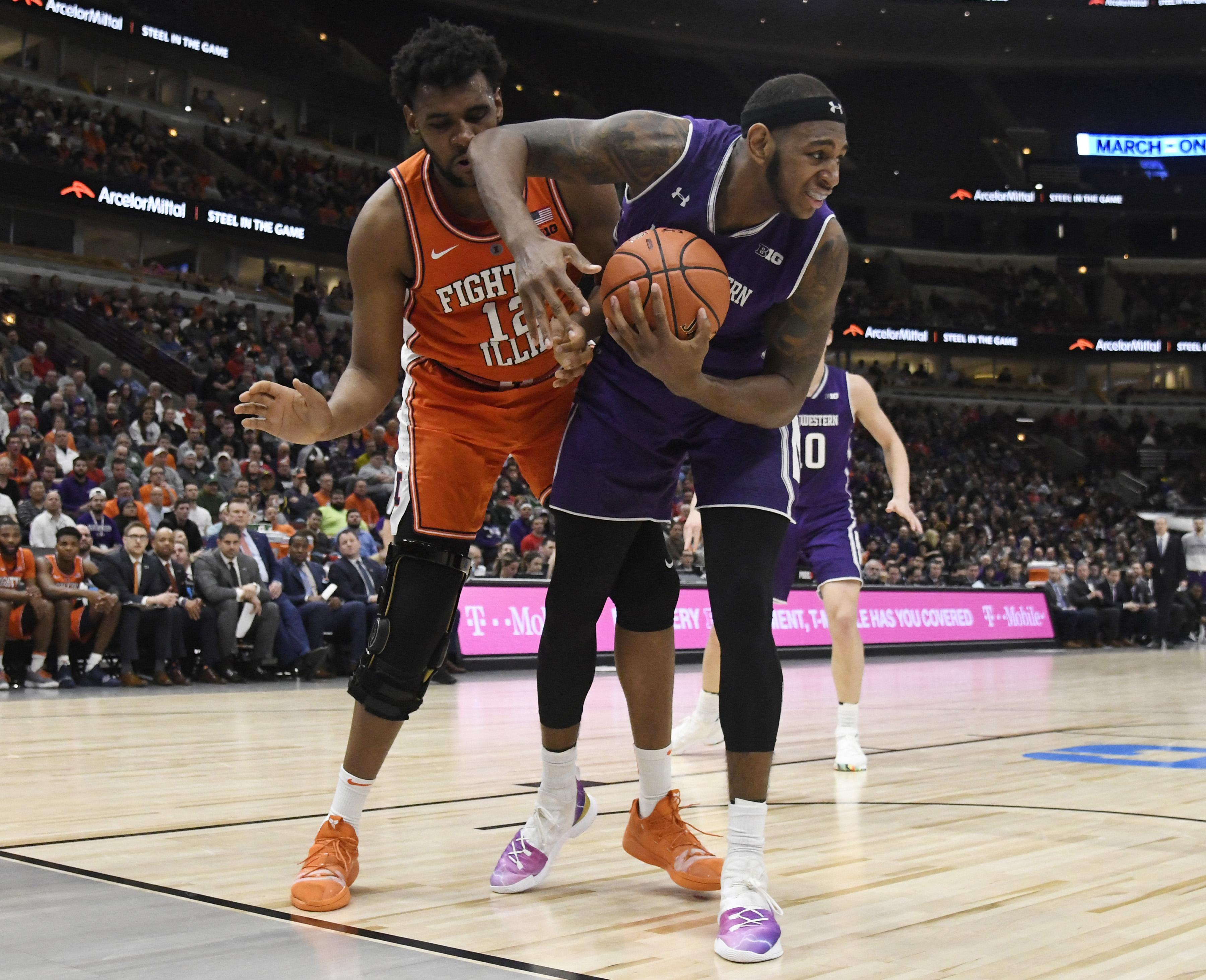 NCAA Basketball: Big Ten Conference Tournament-Northwestern vs Illinois