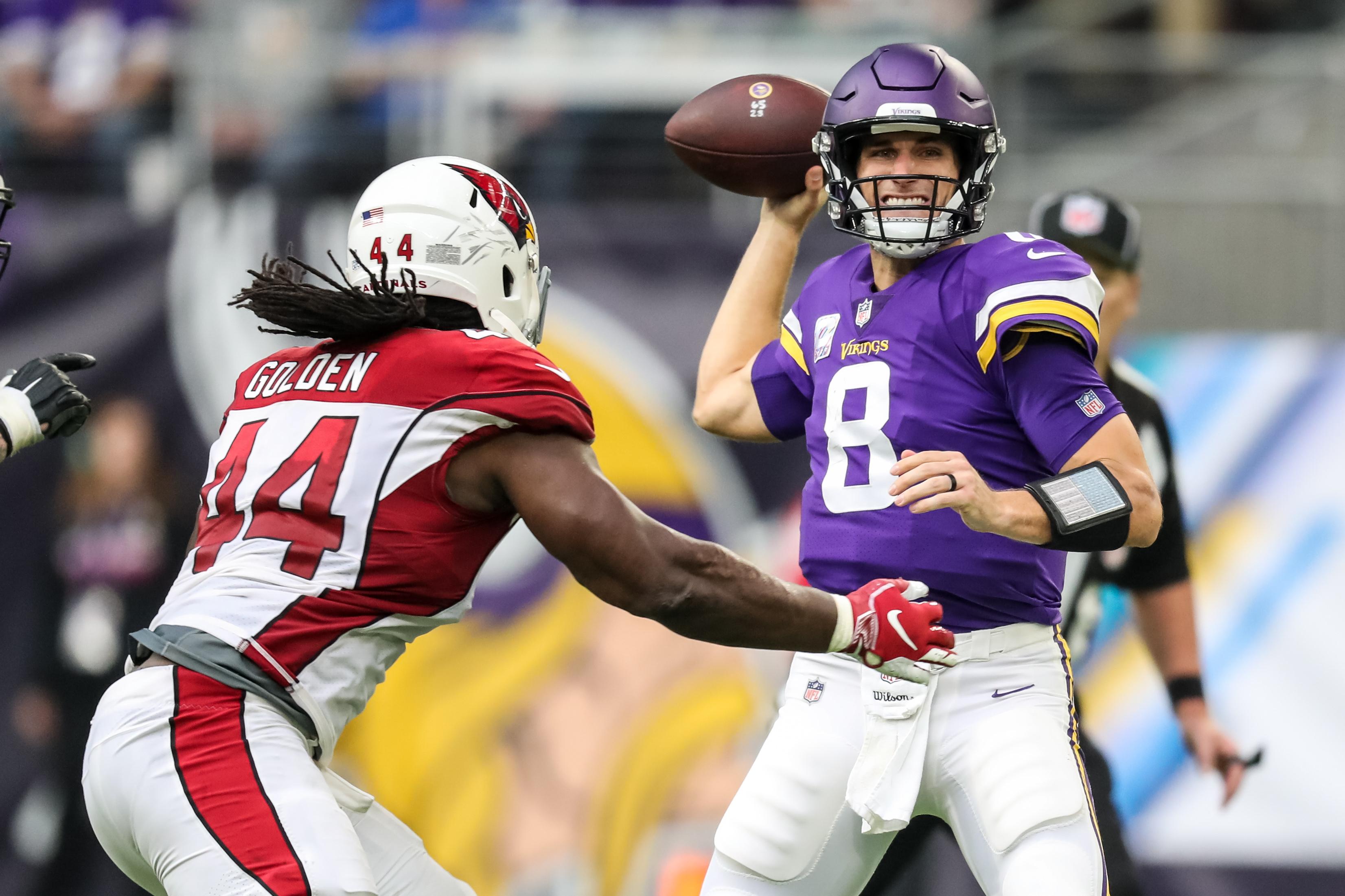 NFL: Arizona Cardinals at Minnesota Vikings