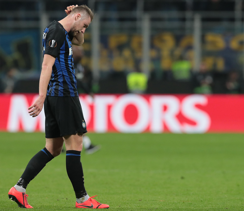 FC Internazionale v Eintracht Frankfurt - UEFA Europa League Round of 16: Second Leg