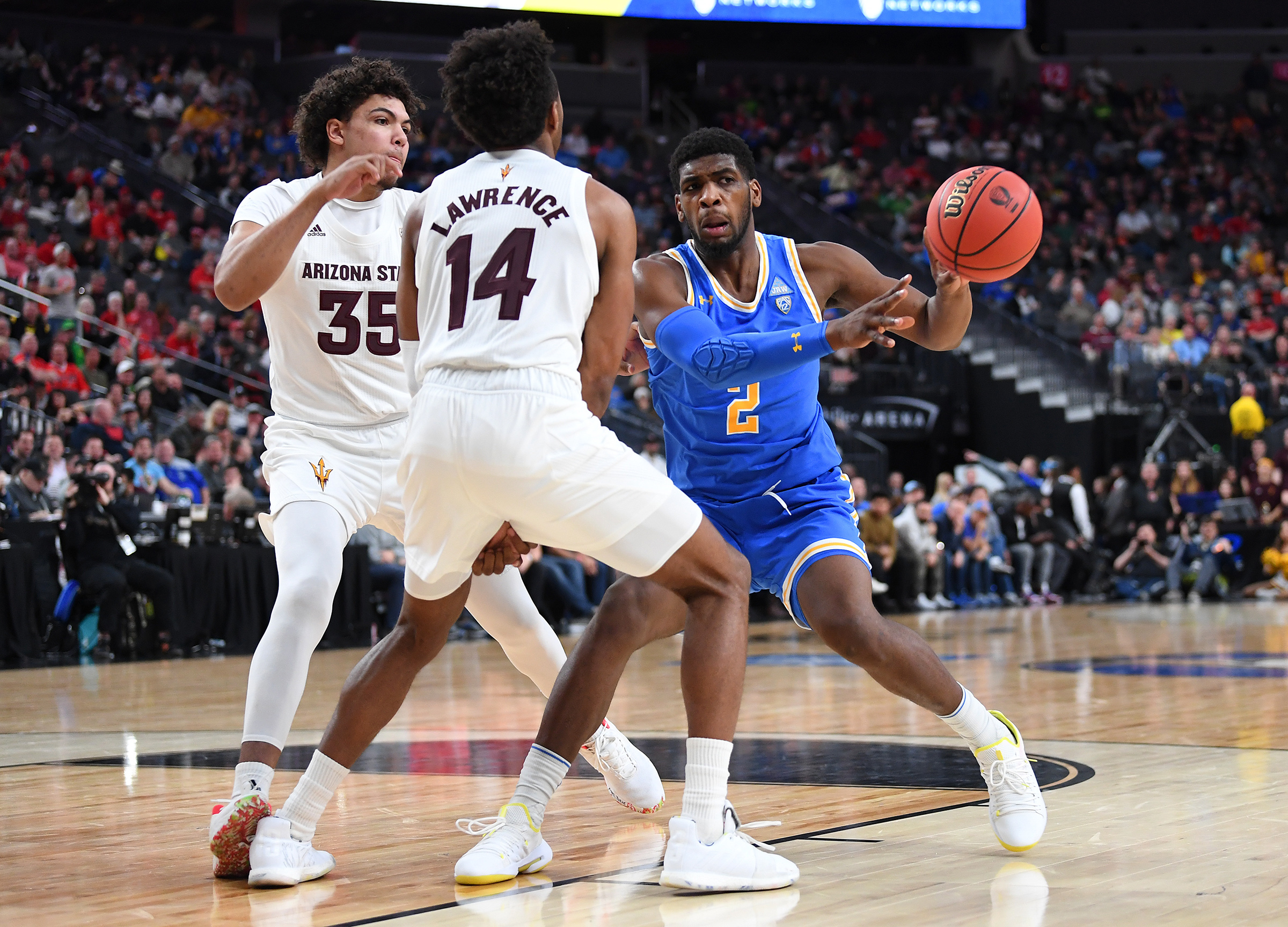 NCAA Basketball: Pac-12 Conference Tournament-Arizona State vs UCLA