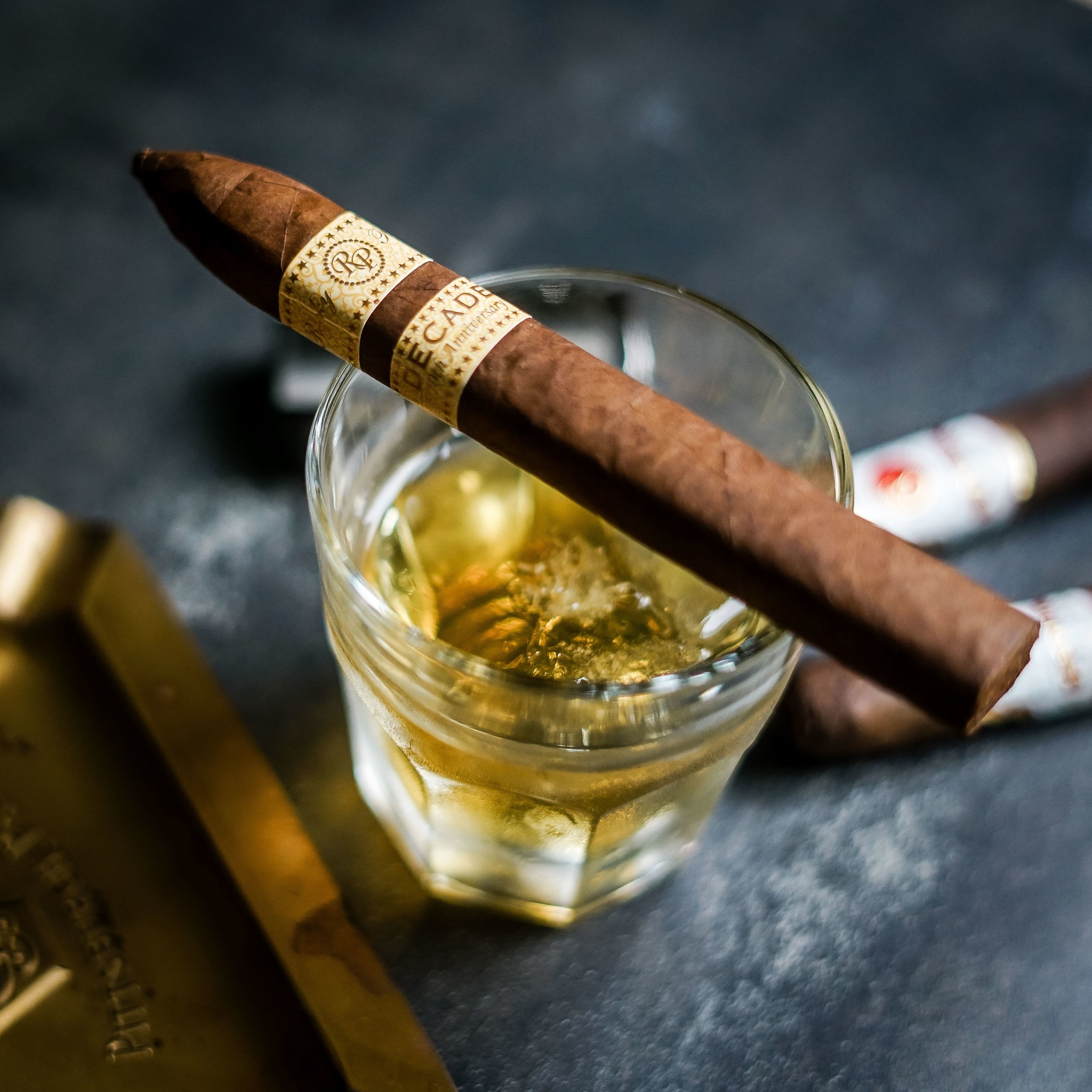 Cigar Bar and Cocktail Lounge Burn by Rocky Patel Opening at Battery Atlanta