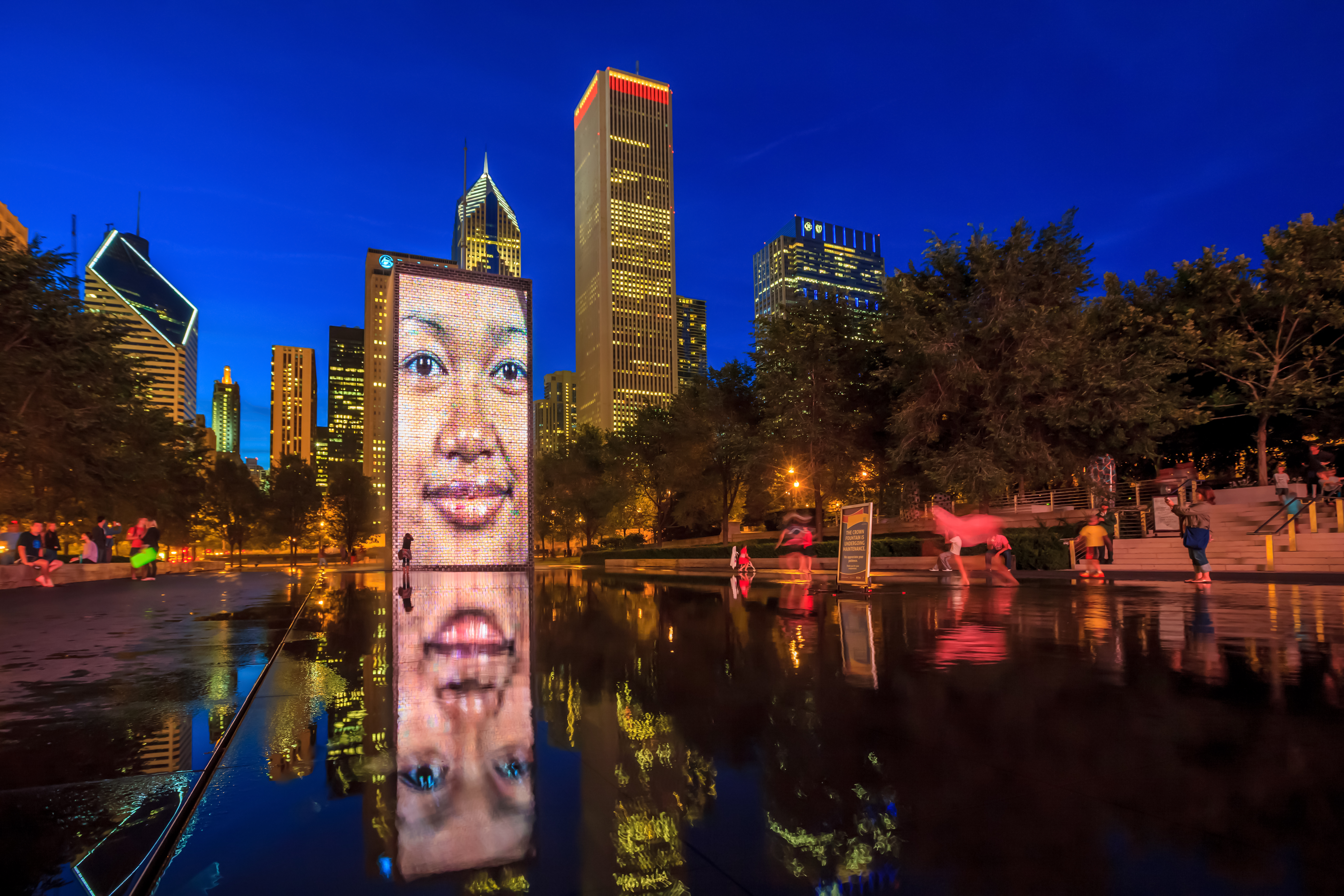 Downtown Chicago's most iconic public art