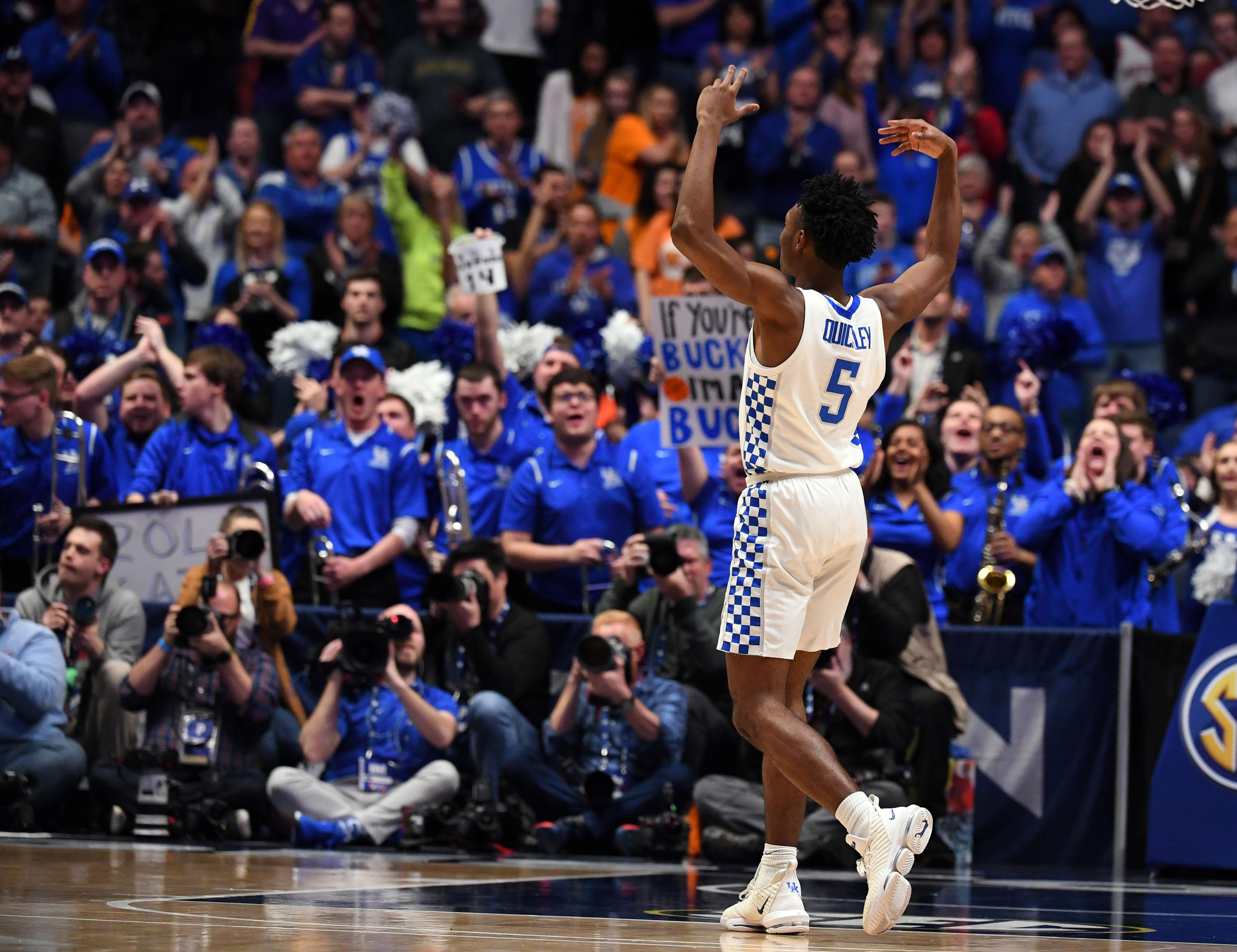 NCAA Basketball: SEC Conference Tournament-Kentucky vs Alabama