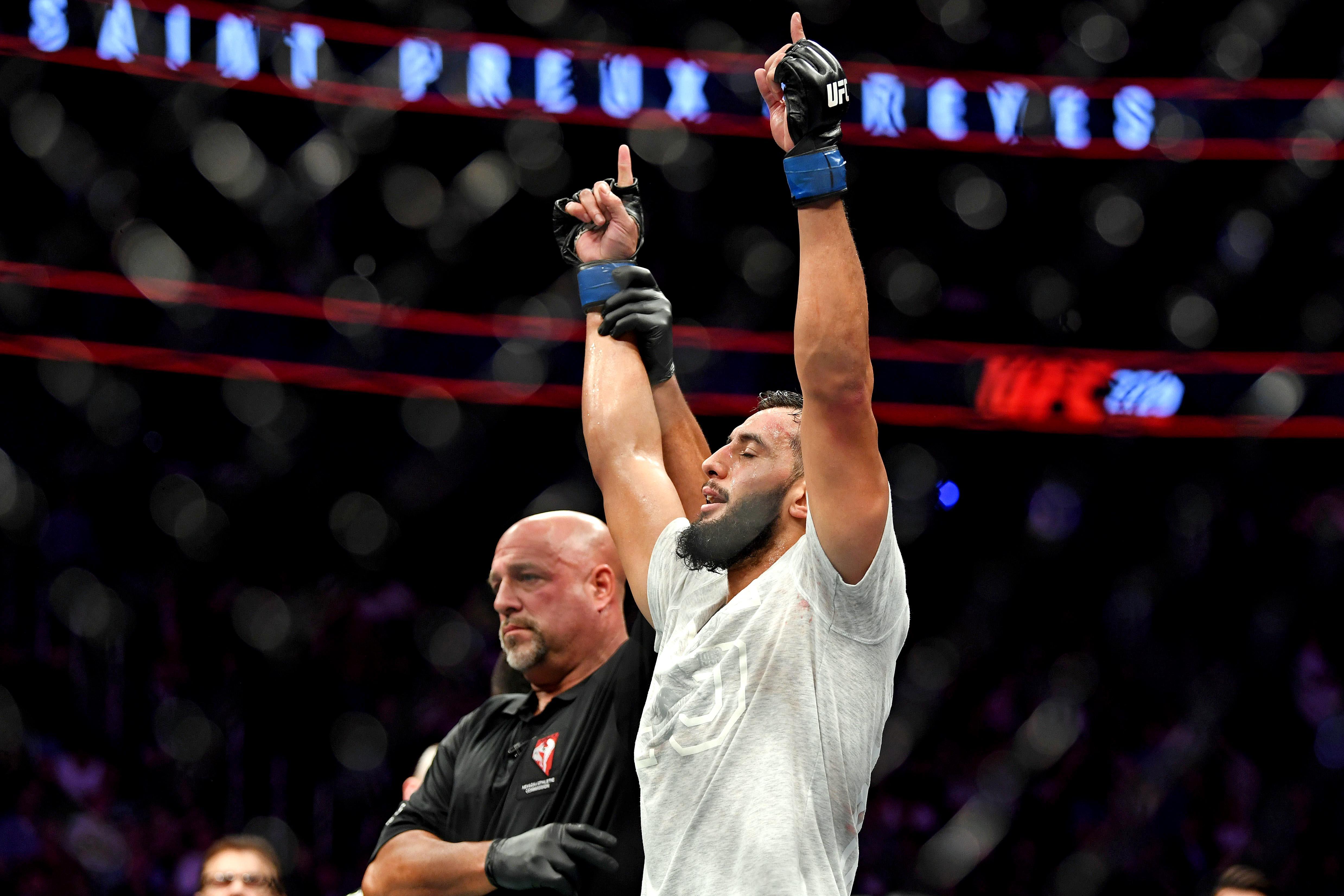爱游戏app下载的游戏不能玩MMA:UFC 229-Saint Prex VS Reyes