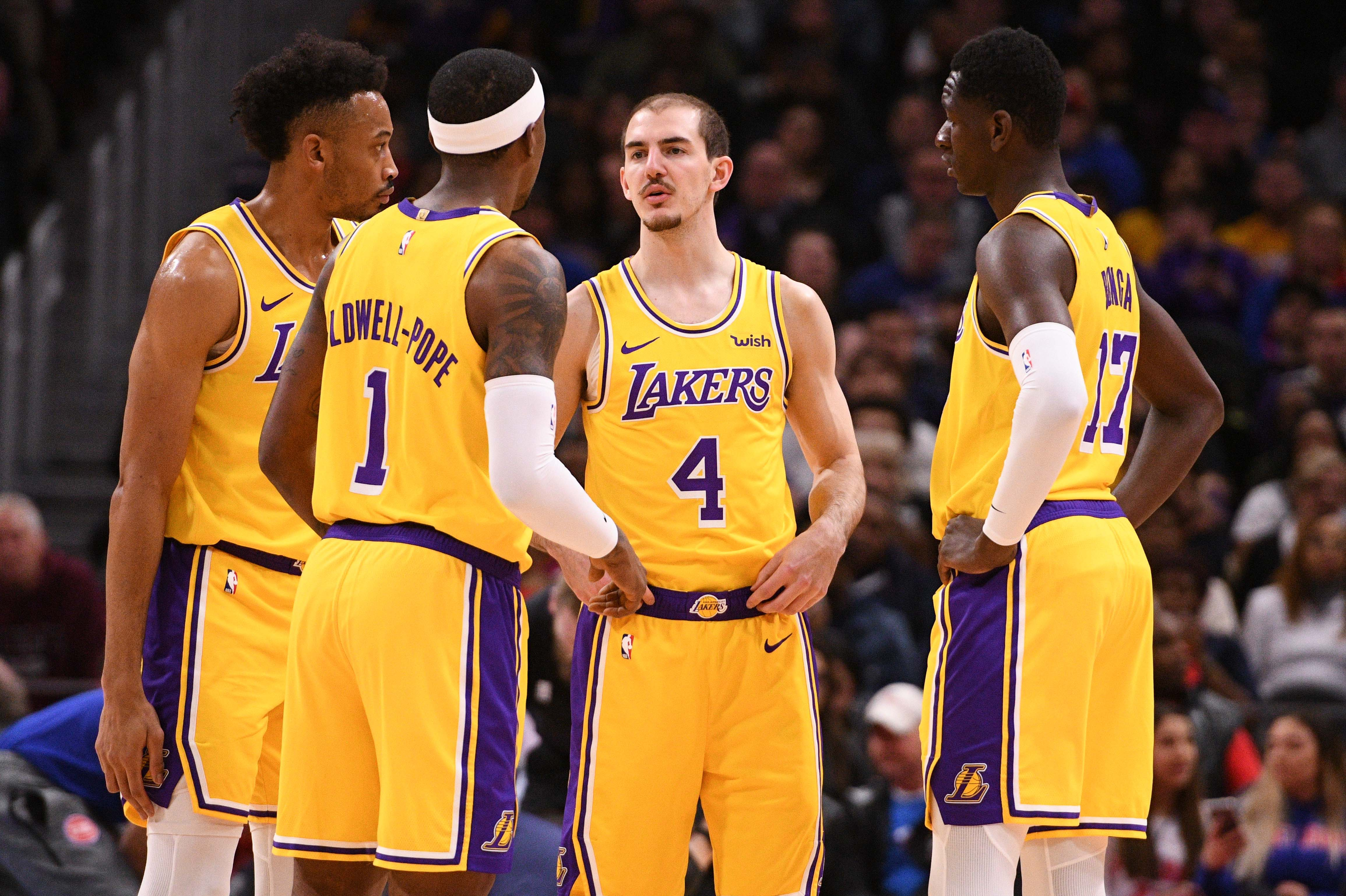 63f5aaf5a Lakers vs. Knicks Preview  Can L.A. continue to get production from their G  League players