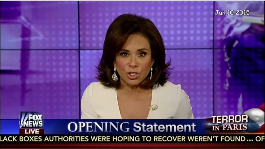 Fox News pulls Judge Jeanine show after Pirro's Islamophobic remarks