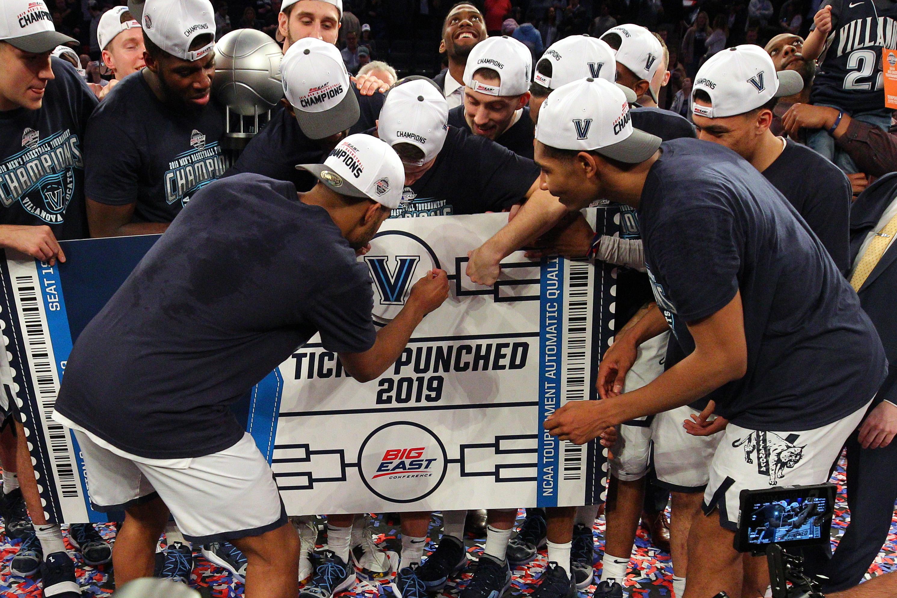 NCAA Basketball: Big East Tournament Final-Villanova vs Seton Hall