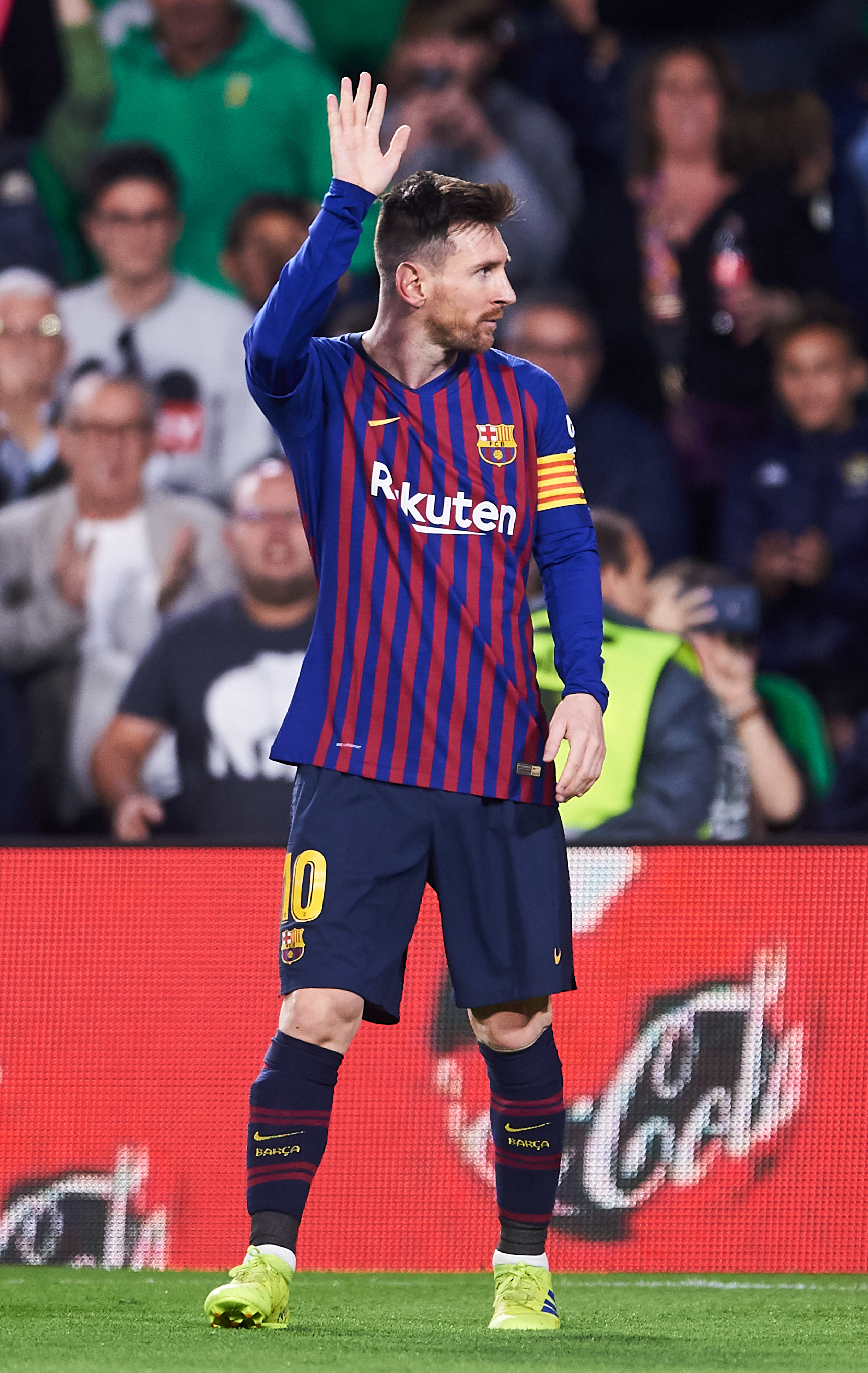 e1a4faec09f Messi grateful to Real Betis fans after hat-trick ovation