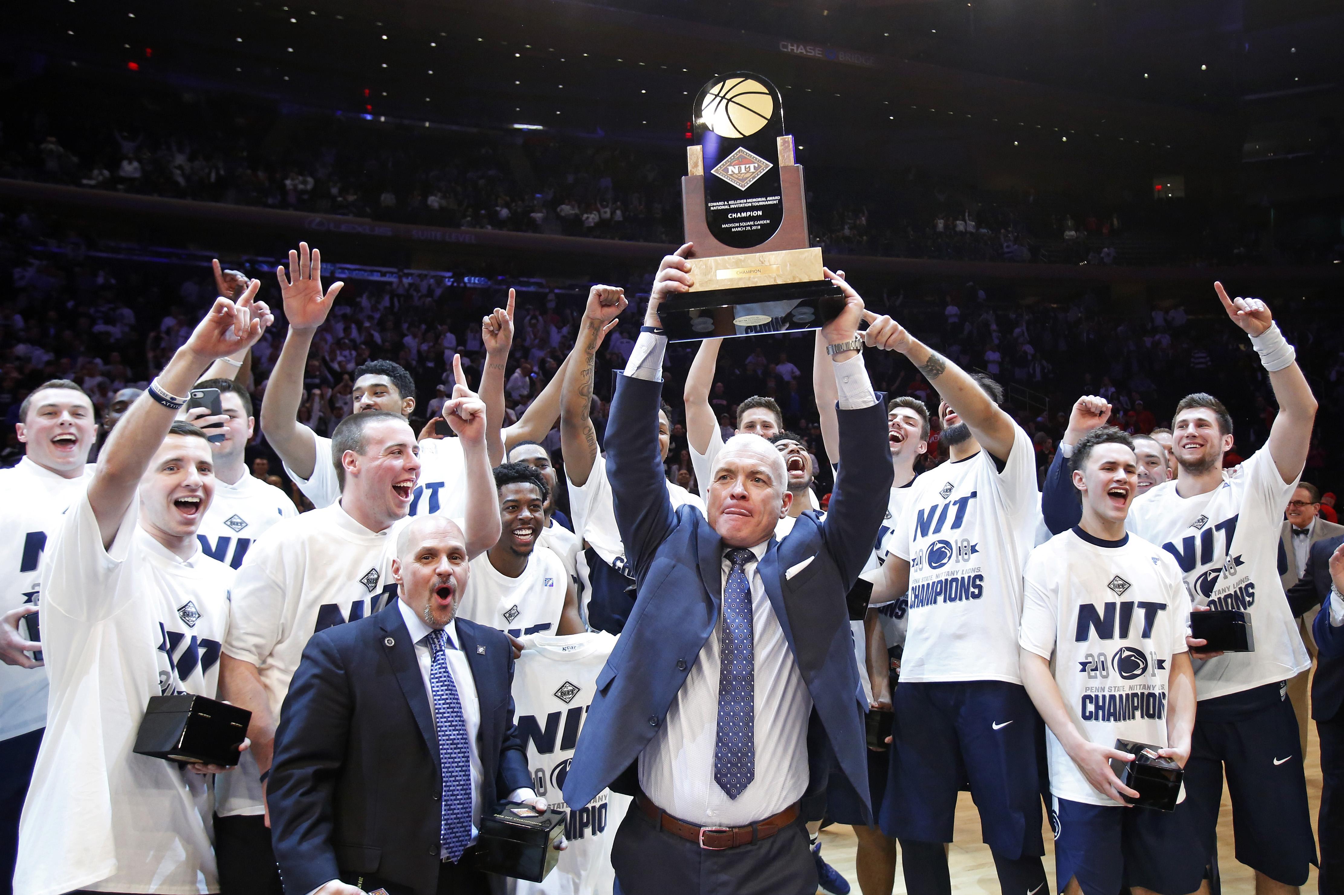 NCAA Basketball: NIT Final-Penn State vs Utah