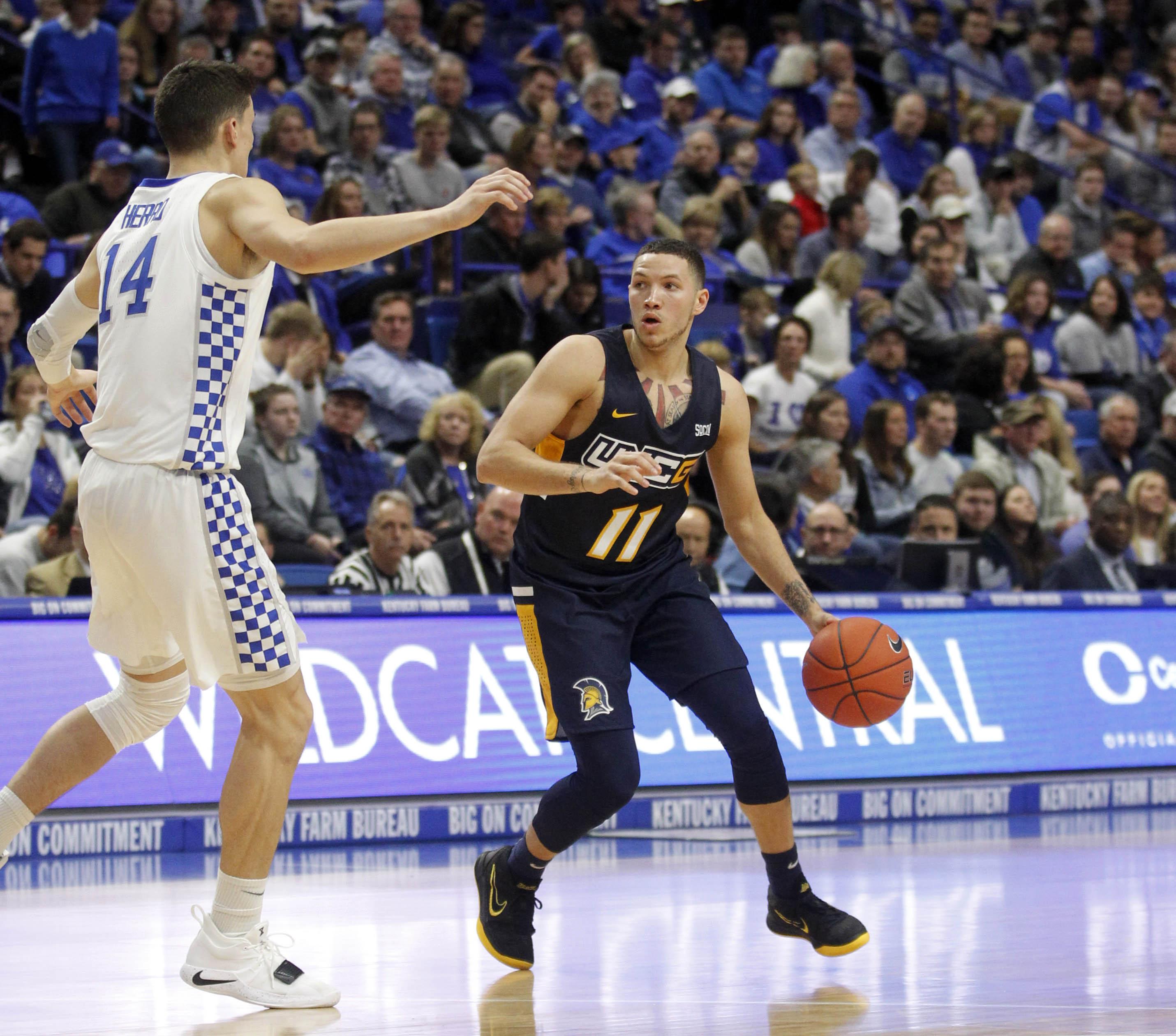 NCAA Basketball: NC-Greensboro at Kentucky