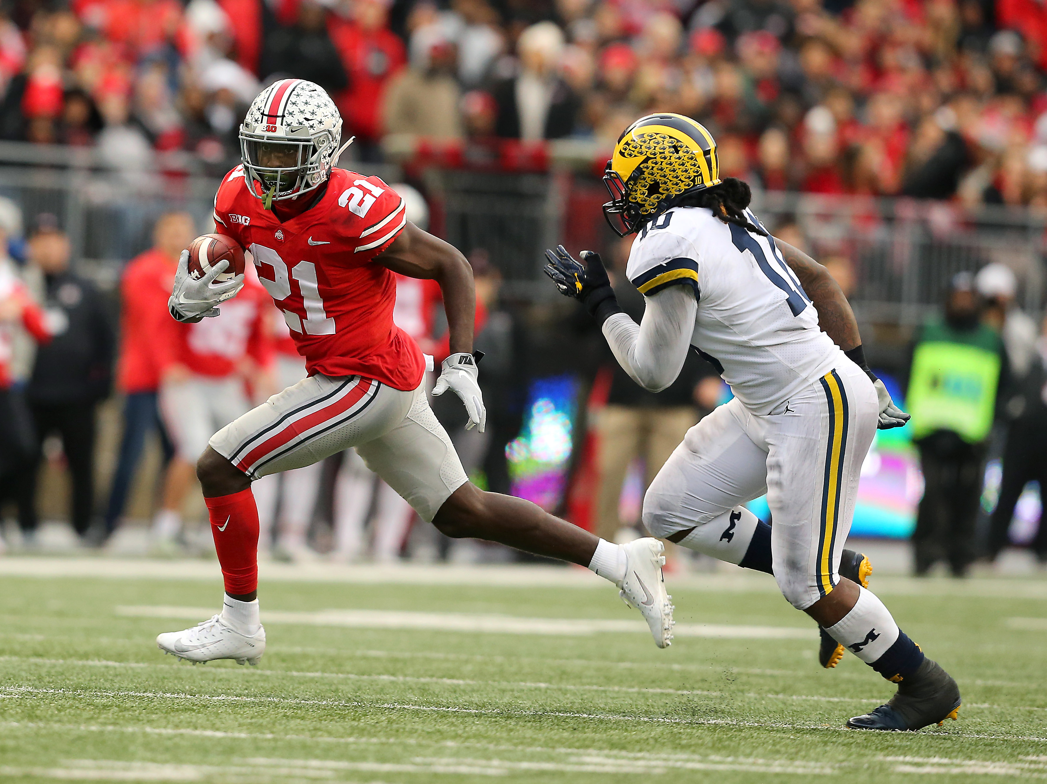 b3f892f2a NFL Draft Profile  Is Ohio State s Parris Campbell the solution for the  49ers at wide receiver  - Niners Nation