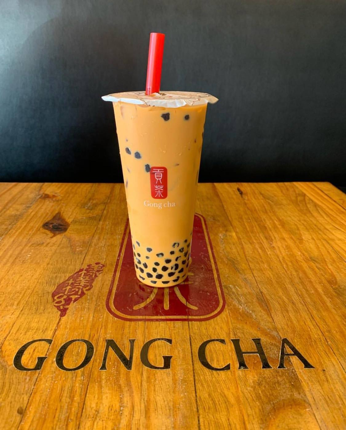 Bubble tea from Gong Cha