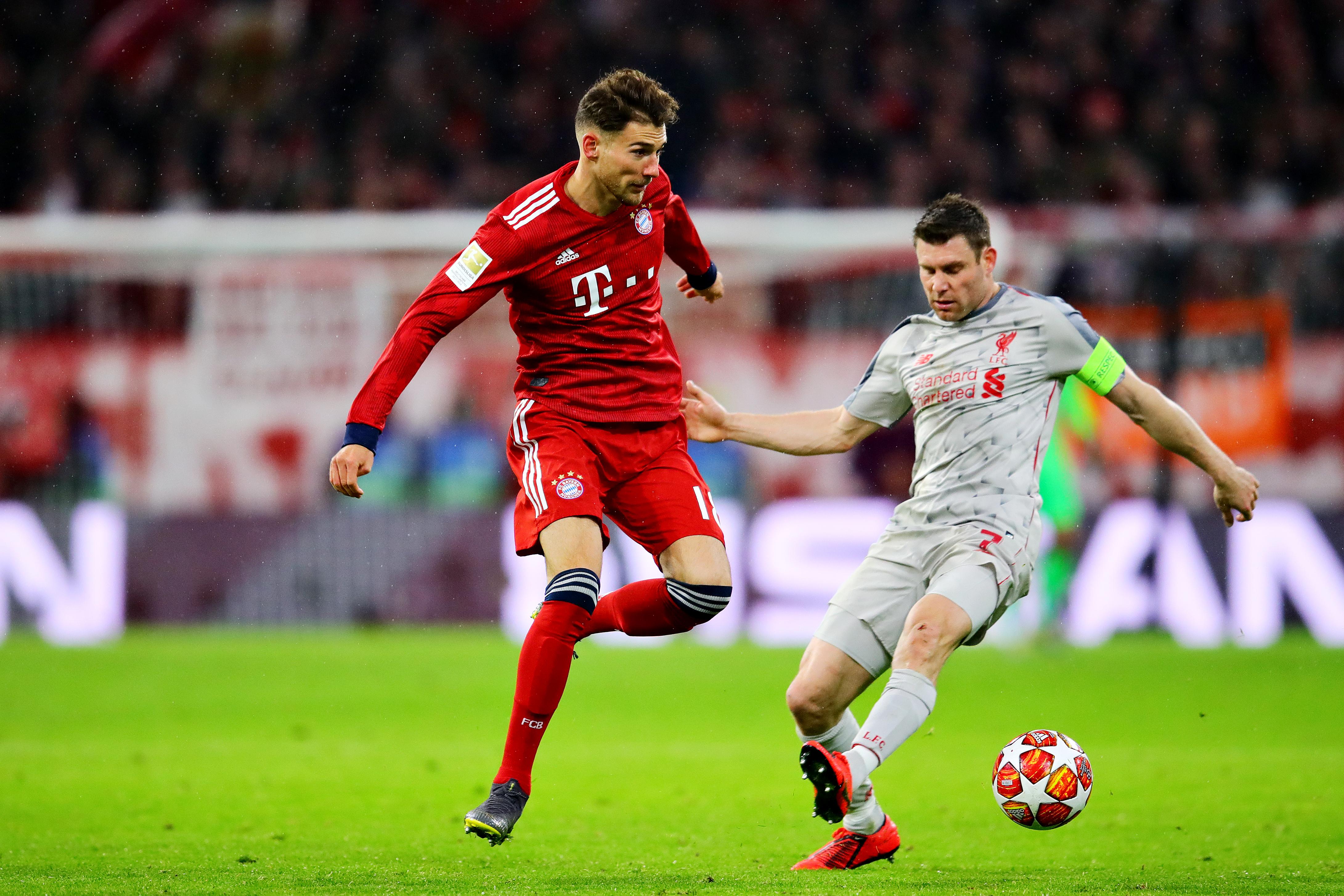 new style d6bdc 66b3b UEFA investigating Bayern Munich and Leon Goretzka for ...