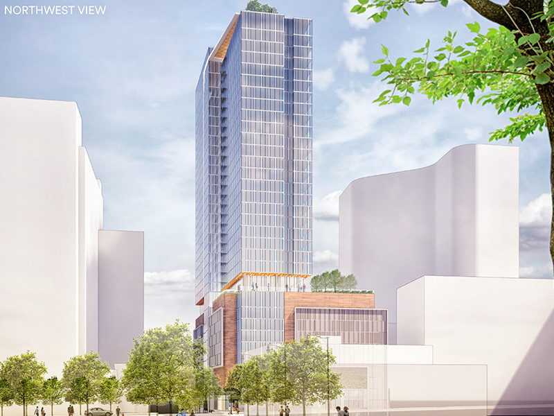 Midtown's latest sky-rise is a go over Peachtree Street