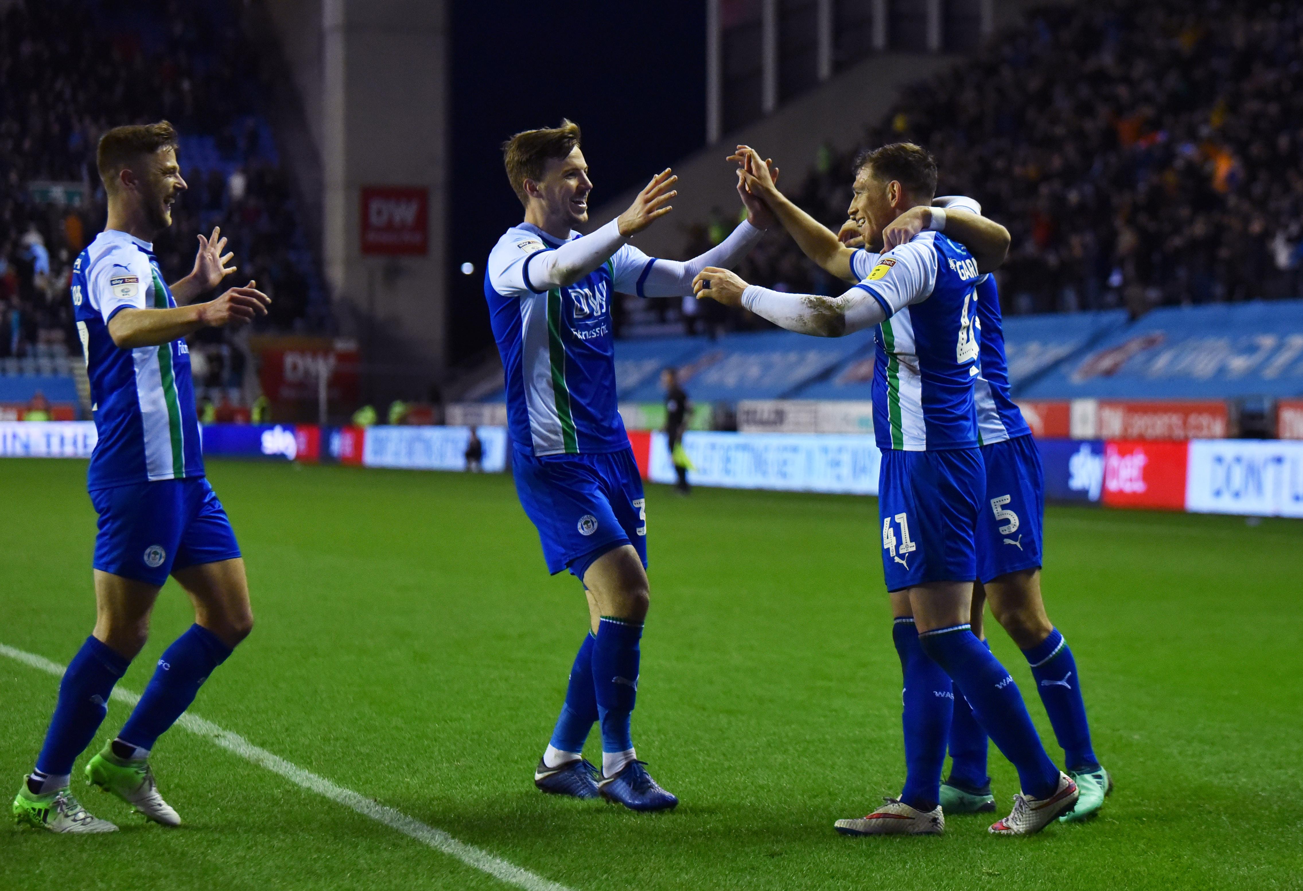 Wigan Athletic v Aston Villa - Sky Bet Championship