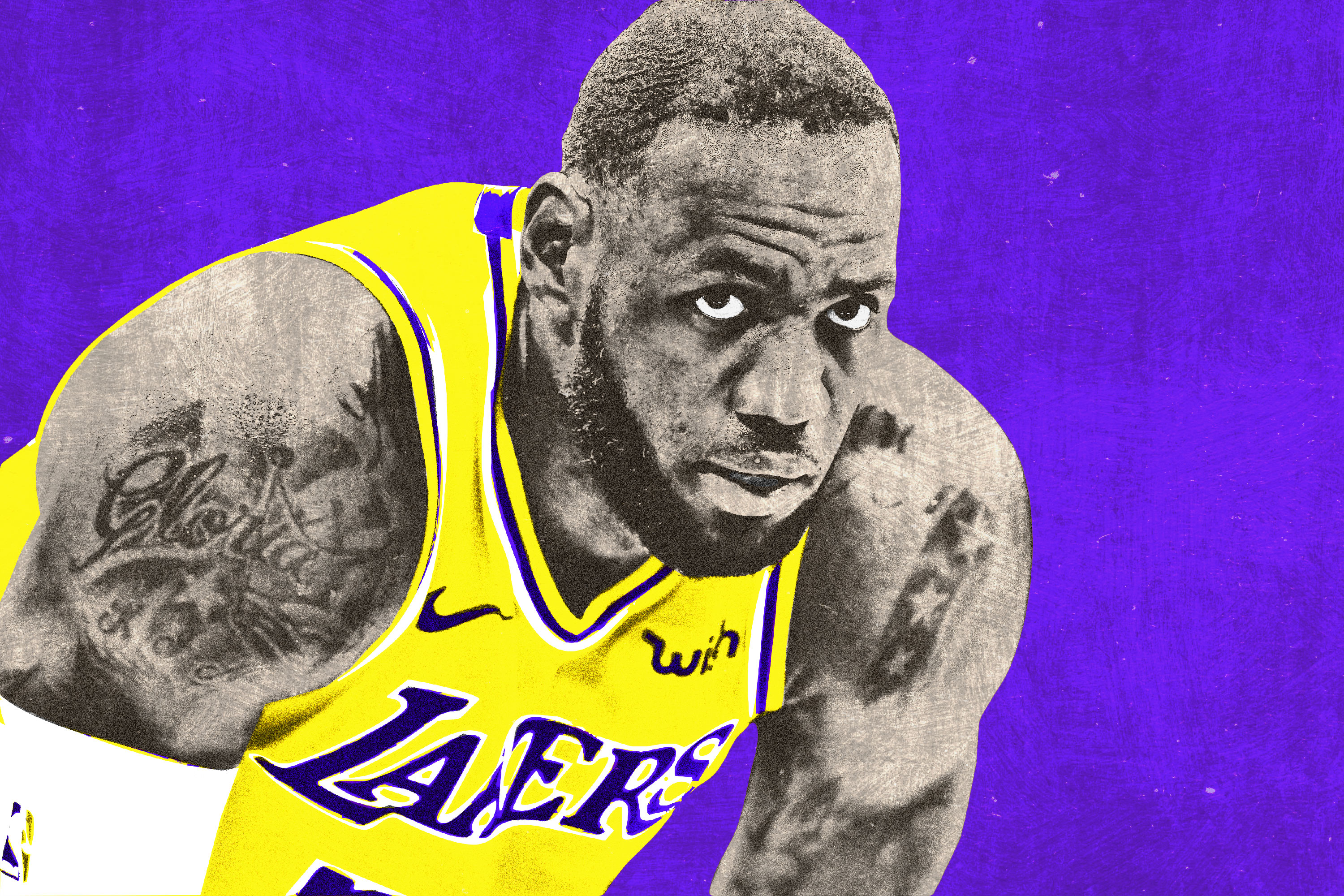 cheaper 4e81e ed74f LeBron James Is Slowing Down, and the Lakers Are Paying for It