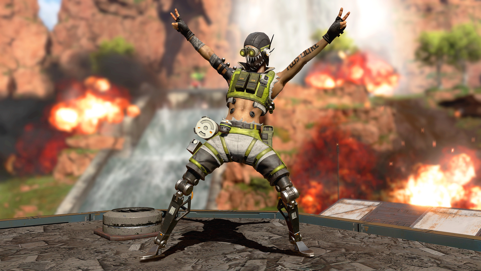 Octane is Apex Legends' first new character: here's what he can do