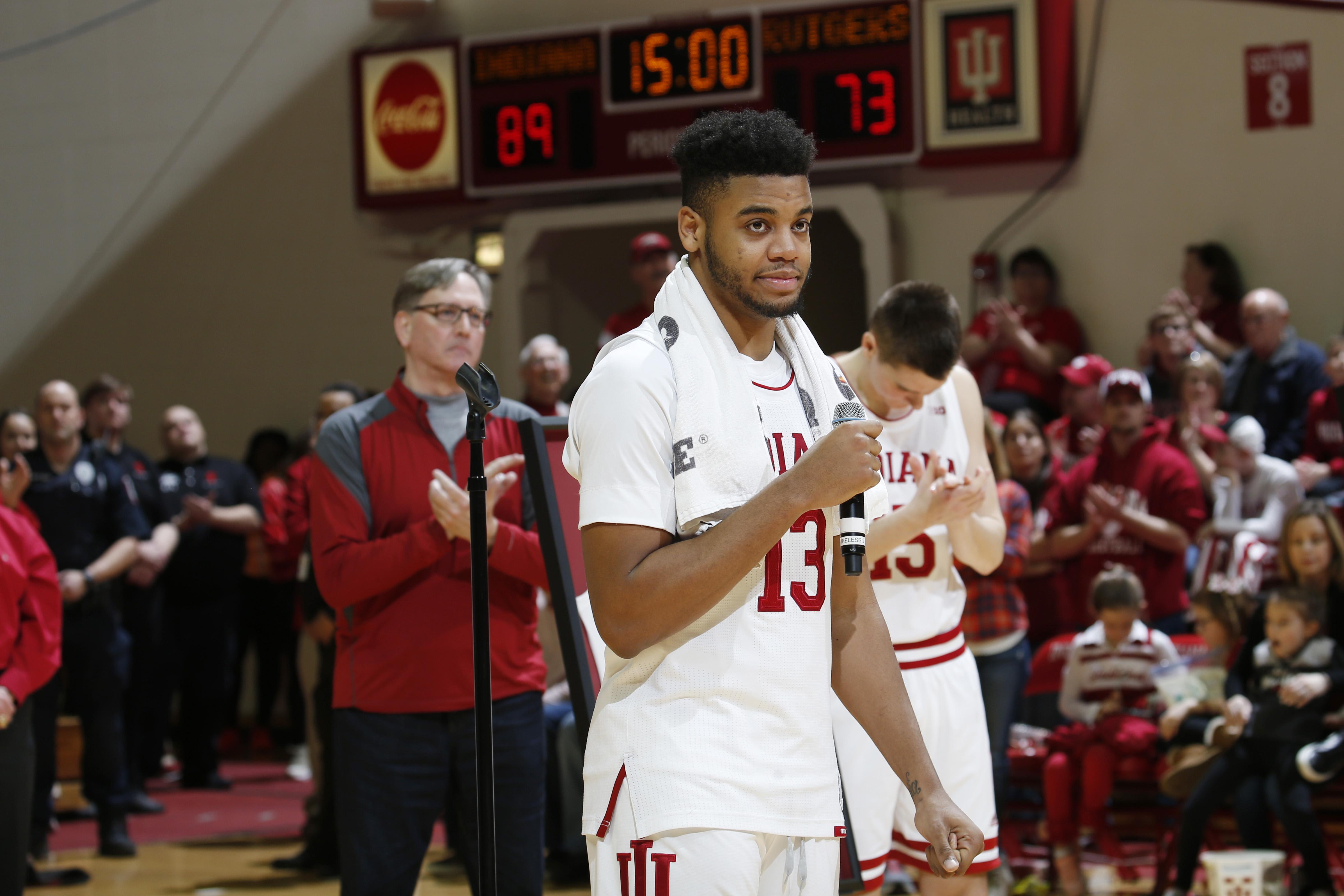 NCAA Basketball: Rutgers at Indiana