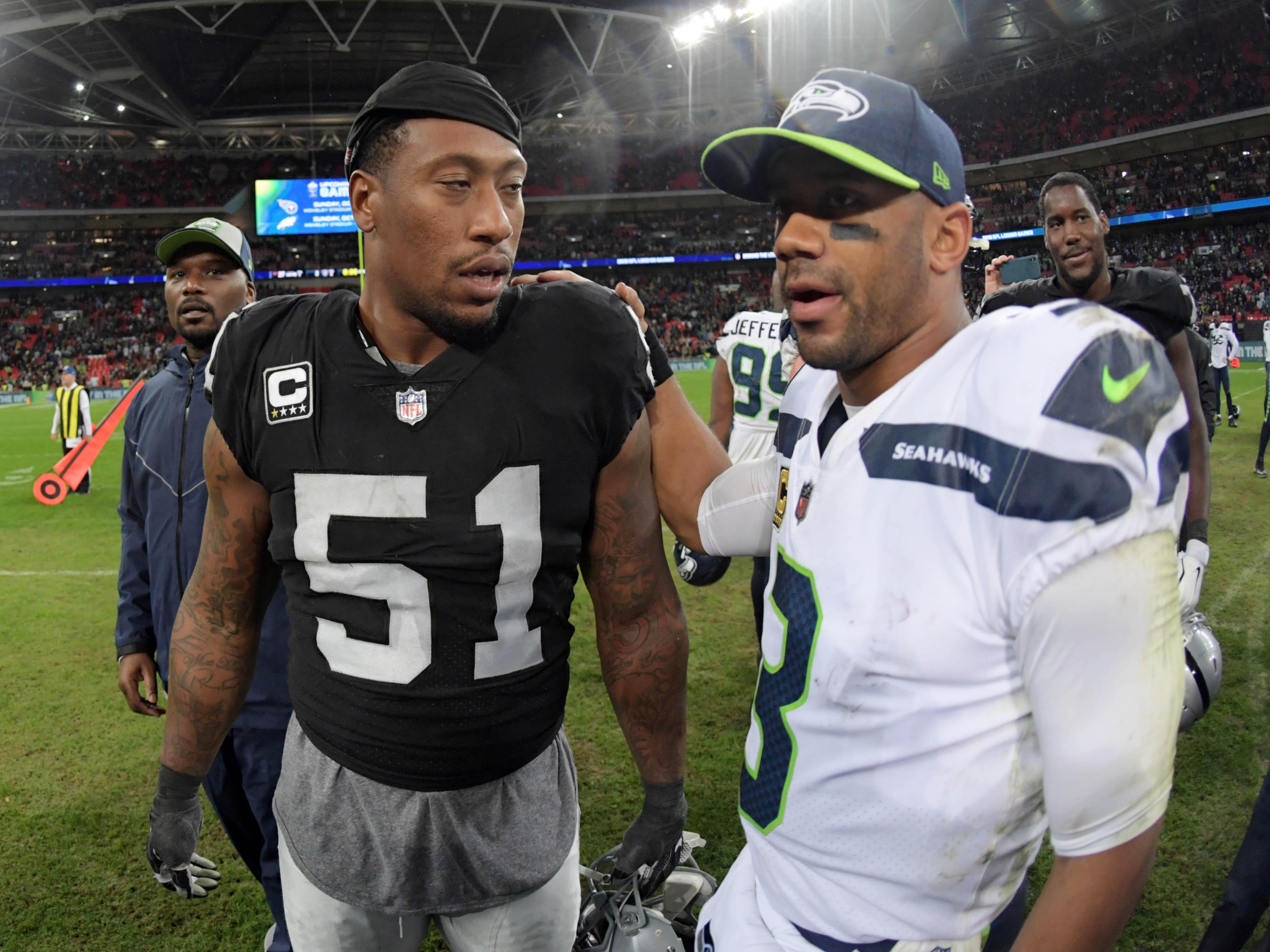 NFL: International Series-Seattle Seahawks at Oakland Raiders
