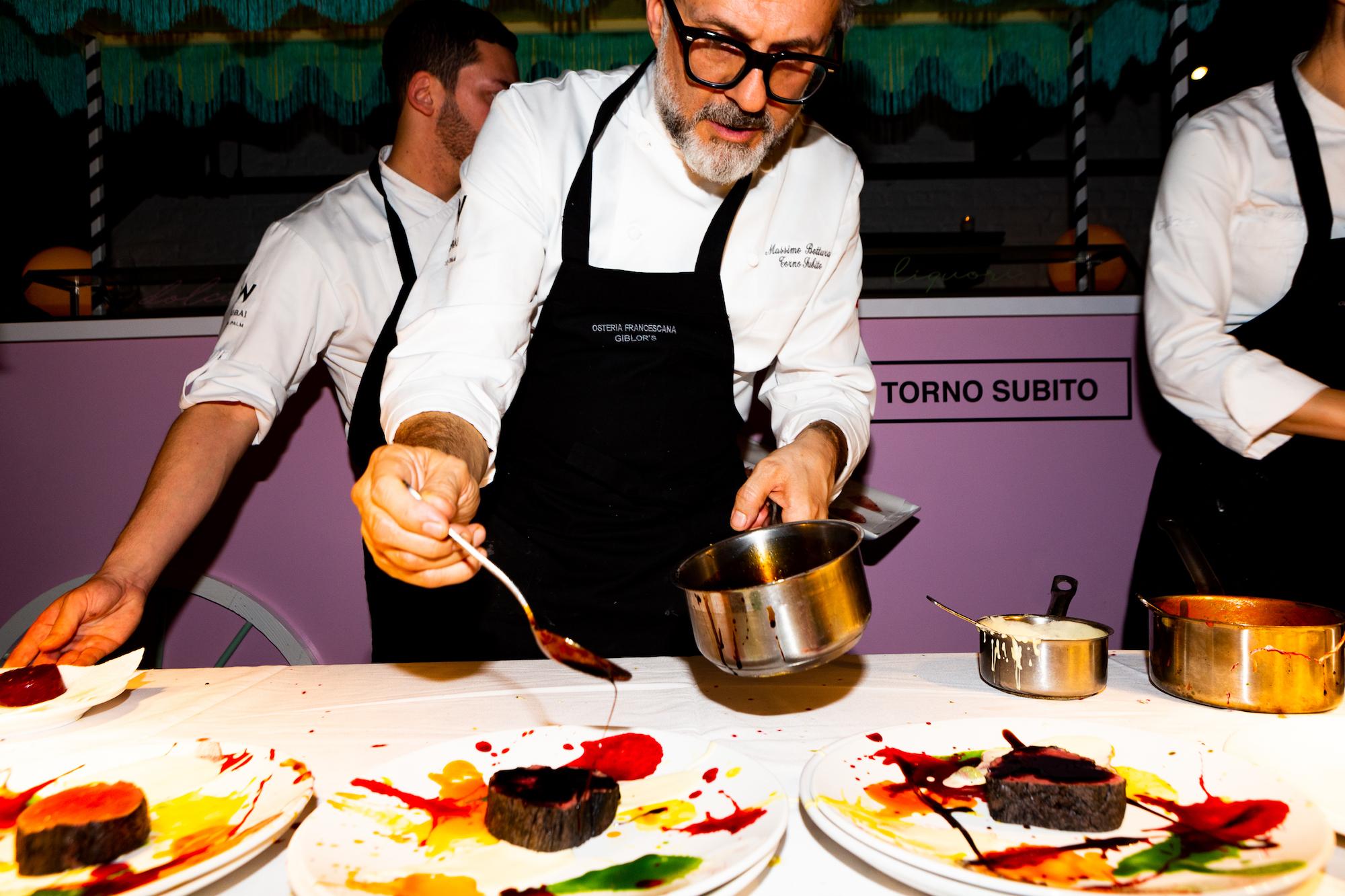 "Massimo Bottura and Bernardo Paladini plate ""Beautiful Psychedelic Veal"""