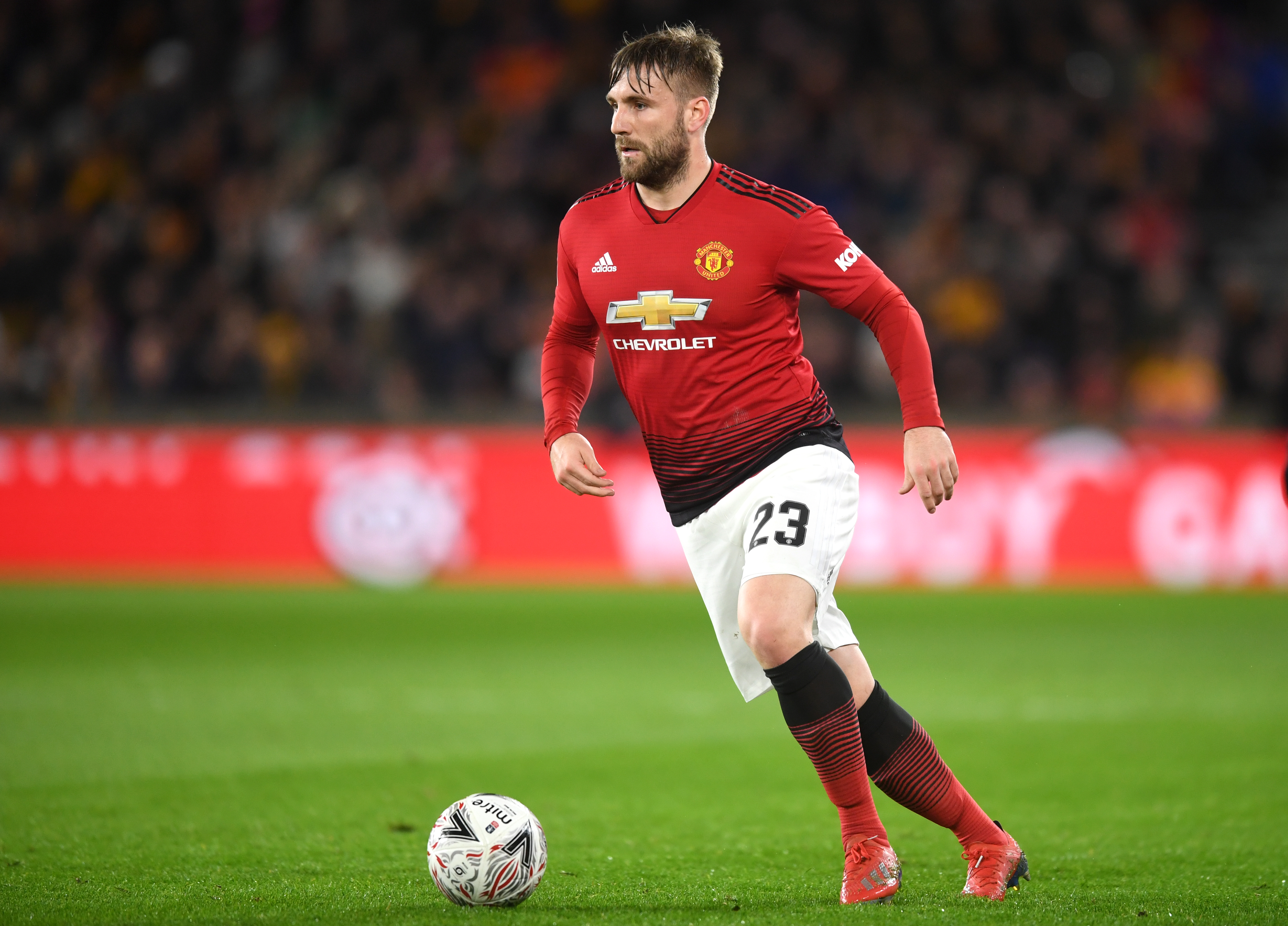 Luke Shaw withdraws from England squad with injury