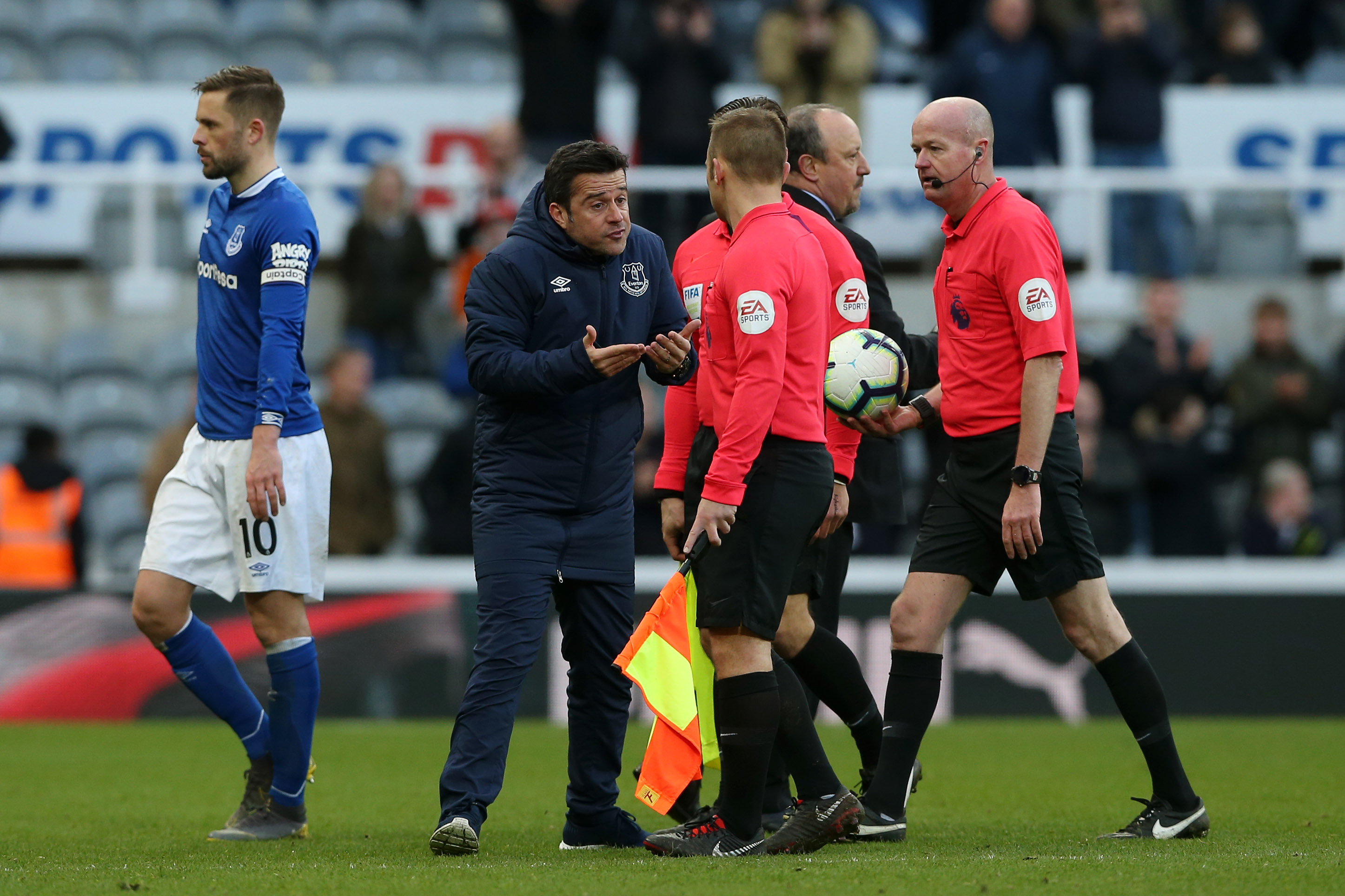 Marco Silva fined but avoids touchline ban over Newcastle outburst