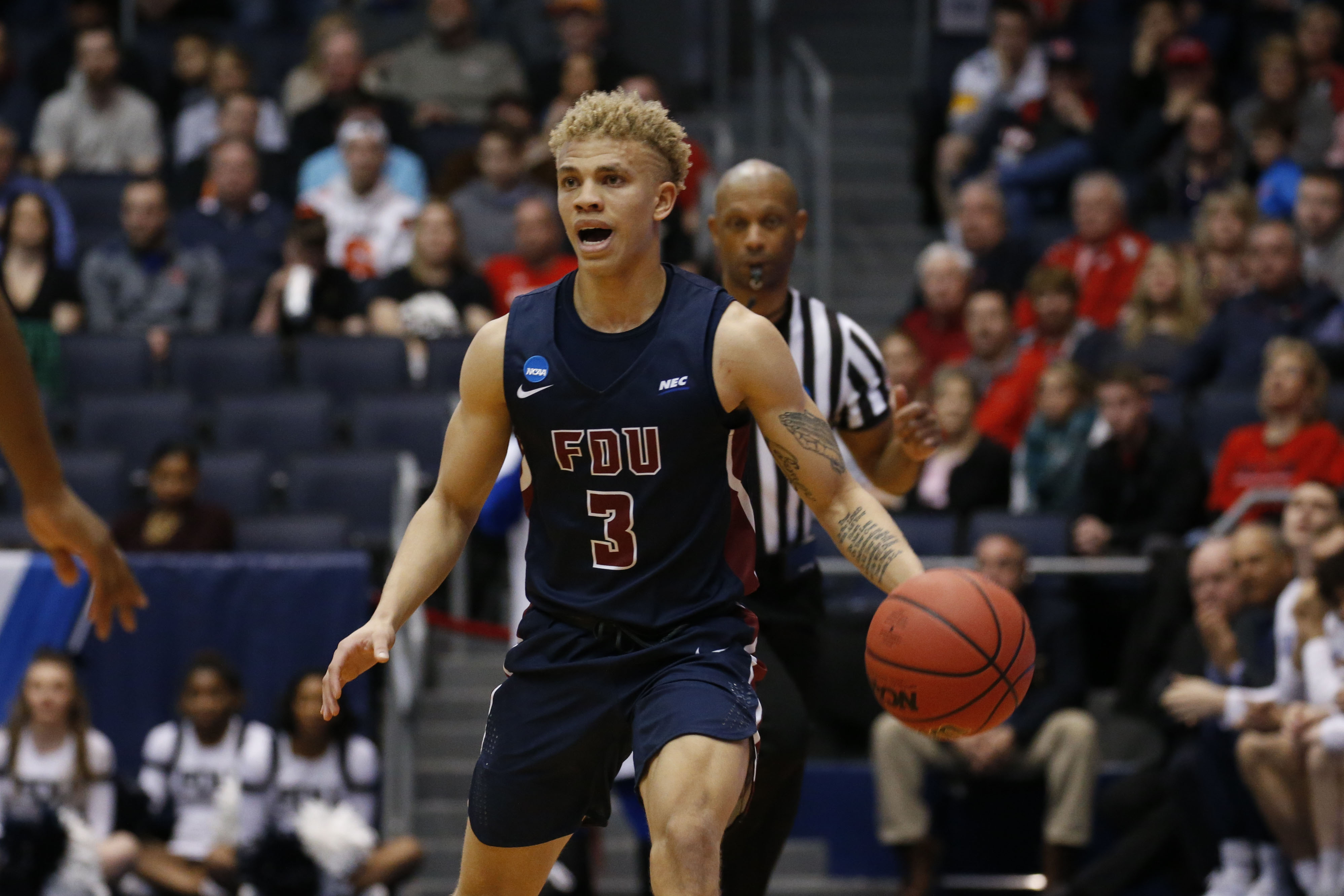 NCAA Basketball: NCAA Tournament First Four- Fairleigh Dickinson Knights vs Prairie View A&M Panthers