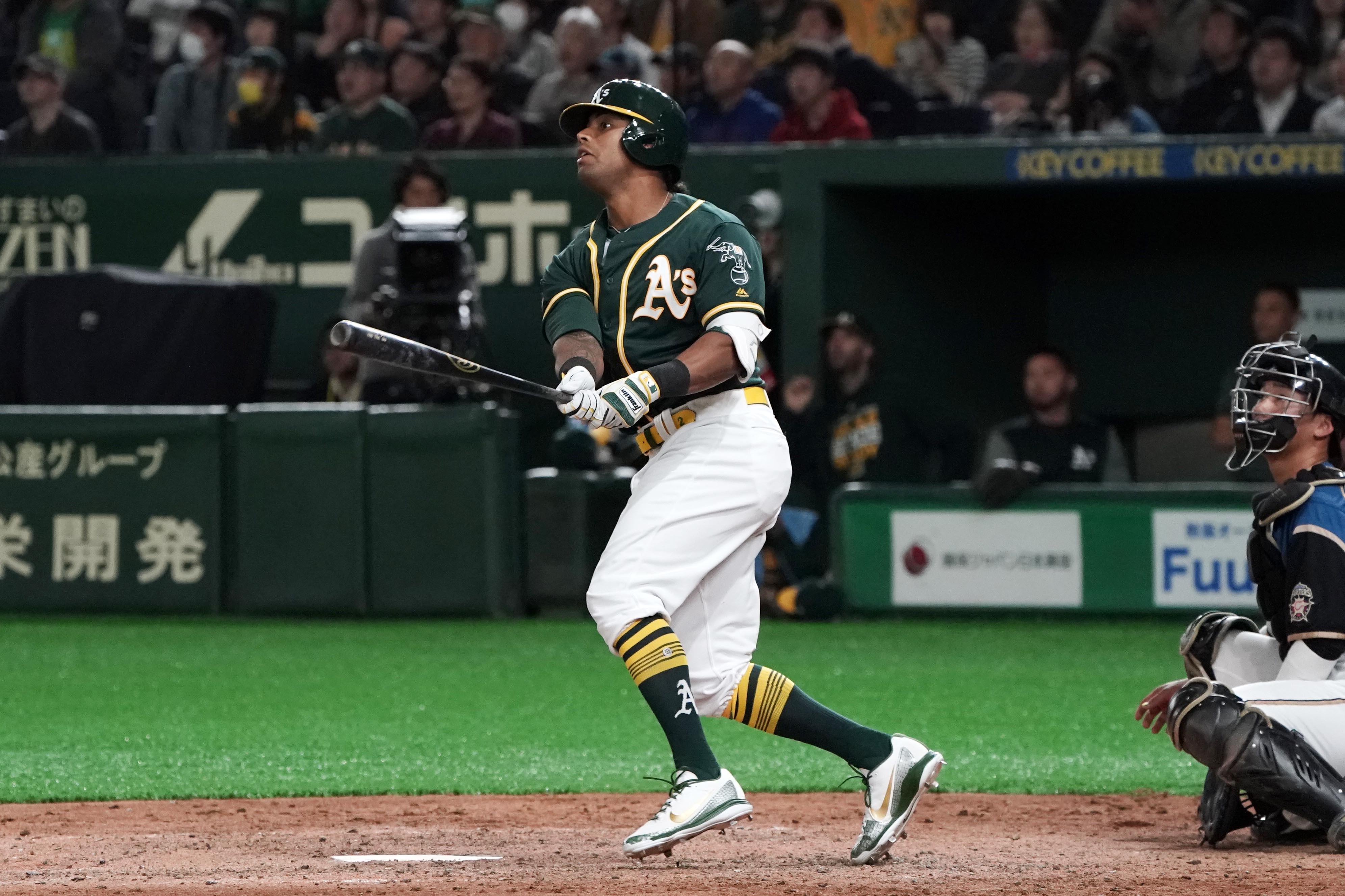 Hokkaido Nippon-Ham Fighters v Oakland Athletics - Preseason Game