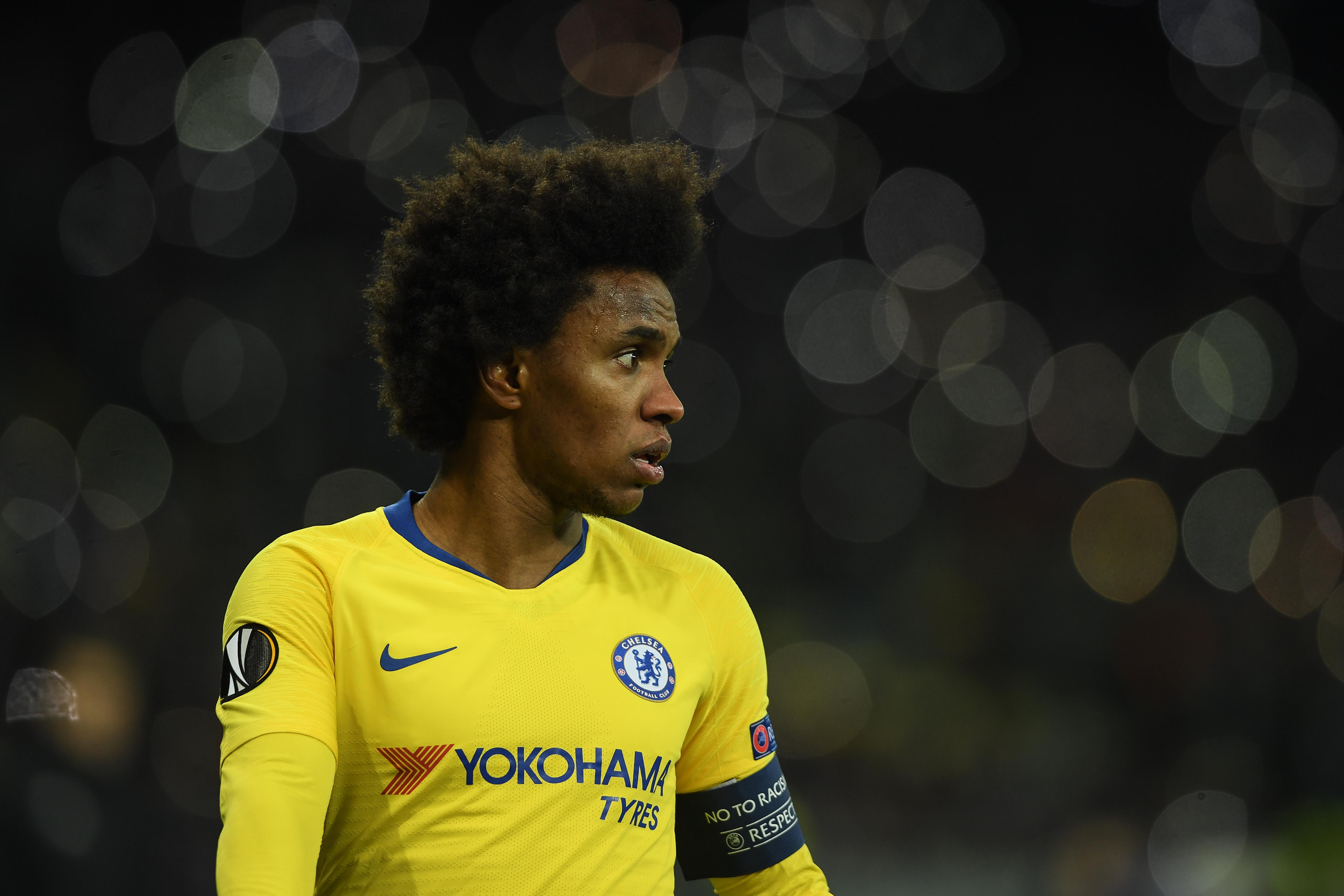 Willian wants to stay and play at 'very special' Chelsea