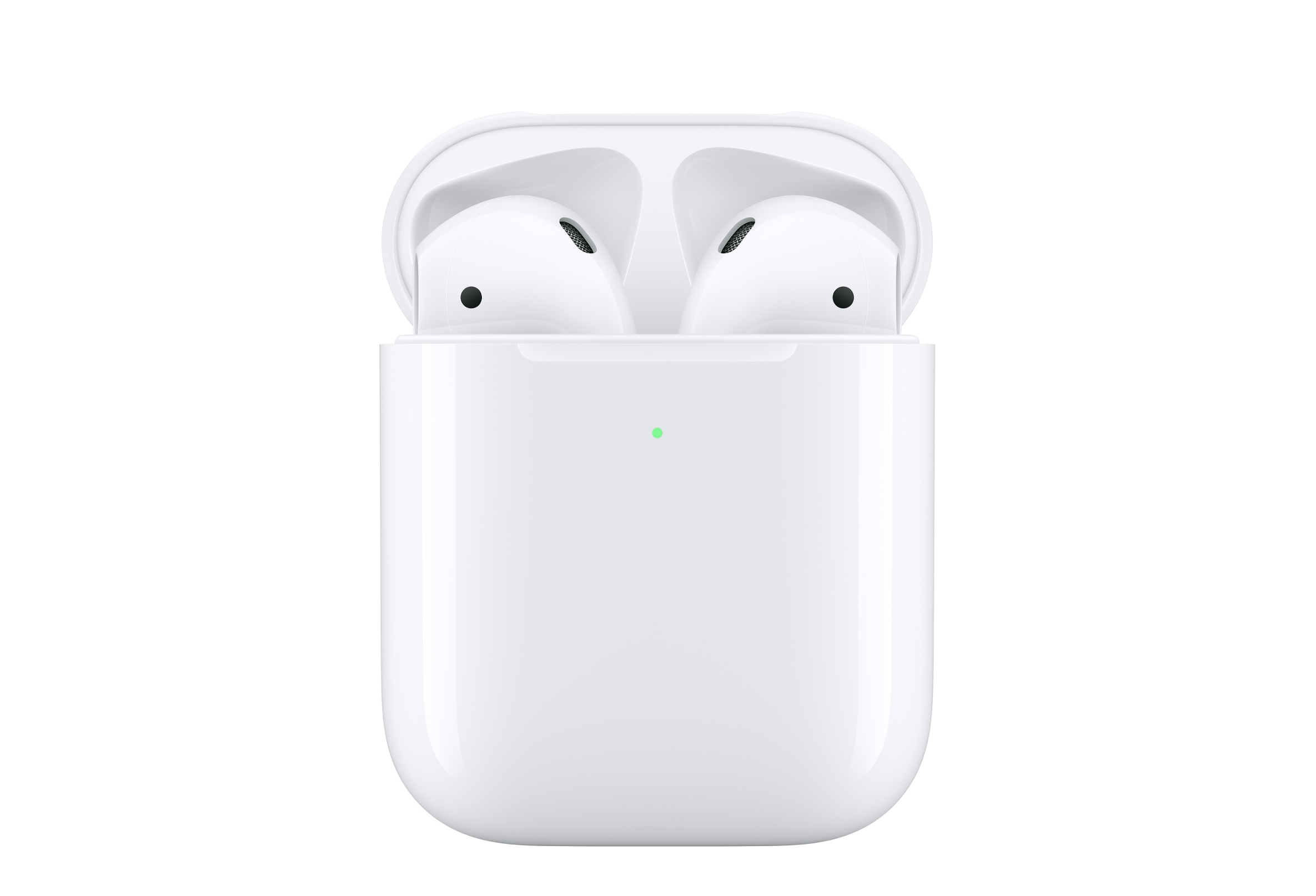 timeless design a8c6f a8194 Apple's new AirPods come with a wireless charging case, Hey Siri ...