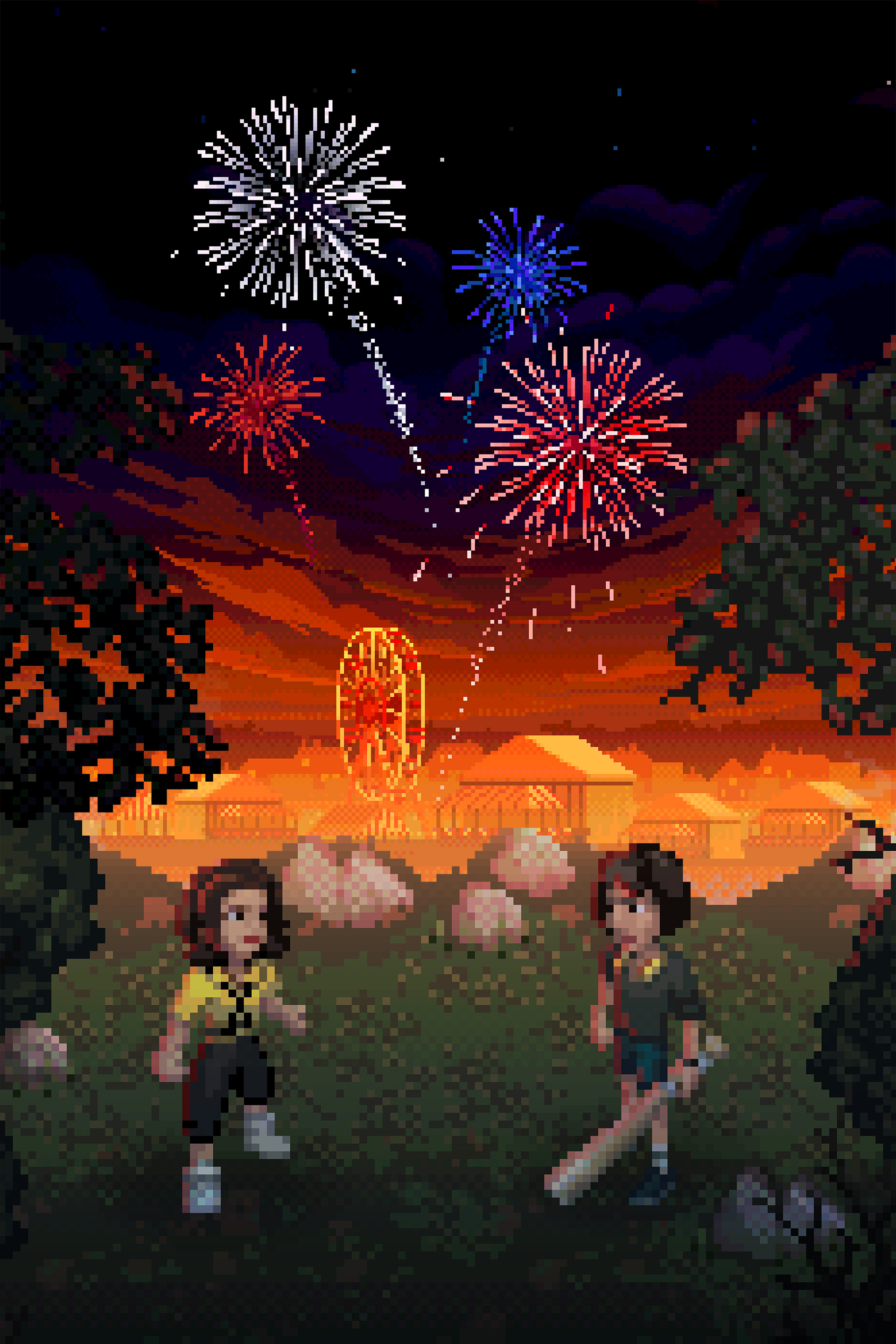 Stranger Things 3: The Game - 4th of July key art