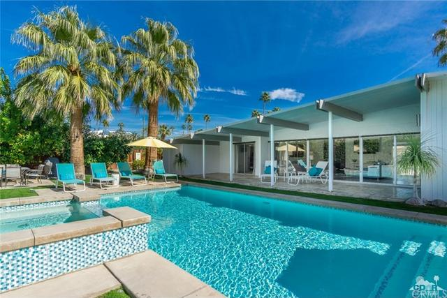 Palm Springs midcentury modern designed by Palmer & Krisel asks $849K
