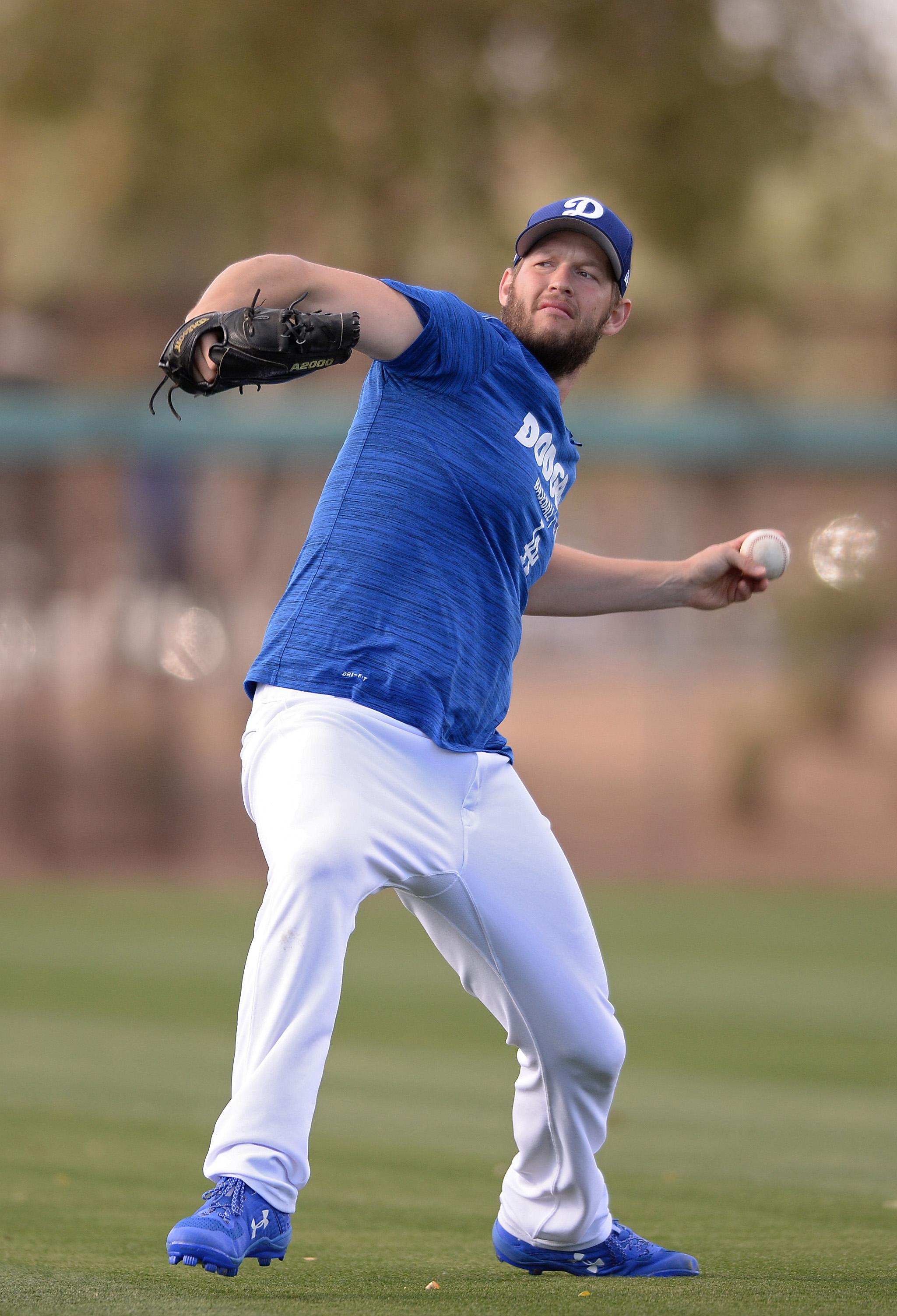 MLB: Spring Training-Kansas City Royals at Los Angeles Dodgers